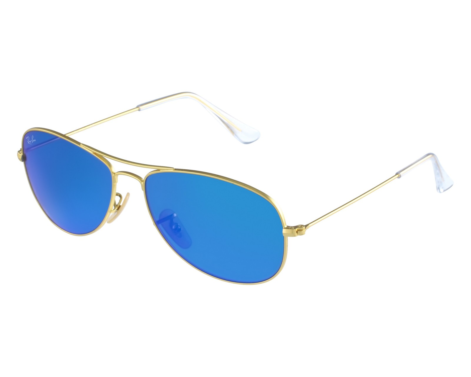378b42c5d2 thumbnail Sunglasses Ray-Ban RB-3362 112 17 - Gold front view