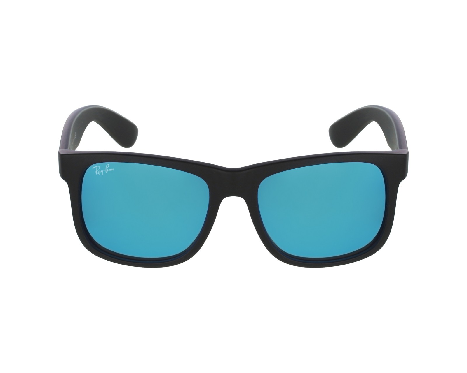 6fccf17d0f8 official ray ban 0rb4165 justin classic black sun b5935 72e46  usa sunglasses  ray ban rb 4165 622 55 51 16 black profile view 9edbc 465ae