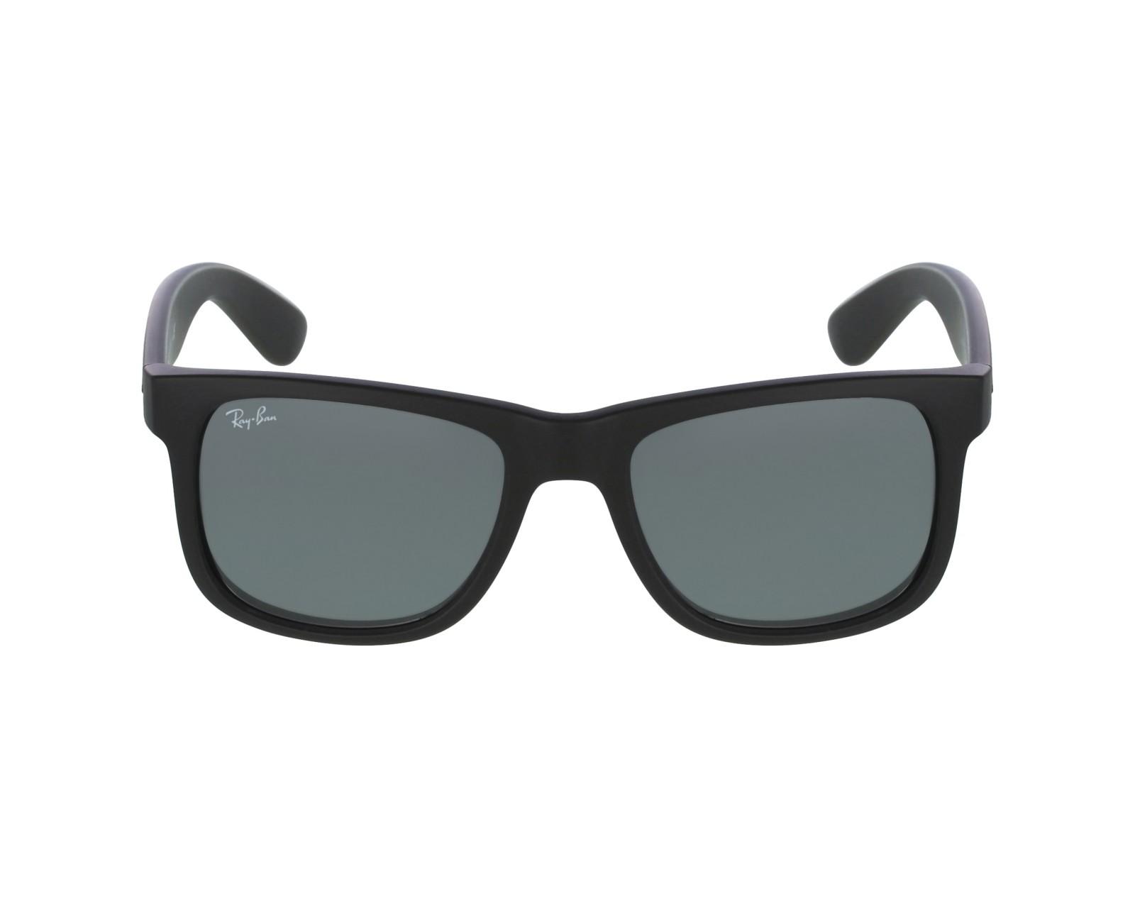 ad14f1e8776 thumbnail Sunglasses Ray-Ban RB-4165 622 6G - Black profile view