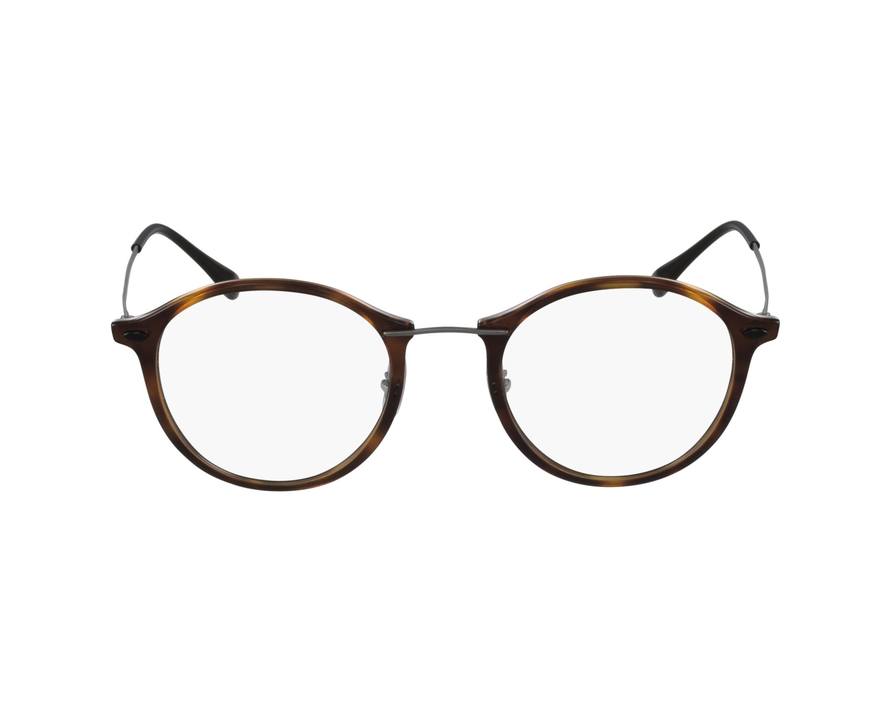 5bee22ab46d eyeglasses Ray-Ban RX-7073 5588 47-21 Havana Grey profile view