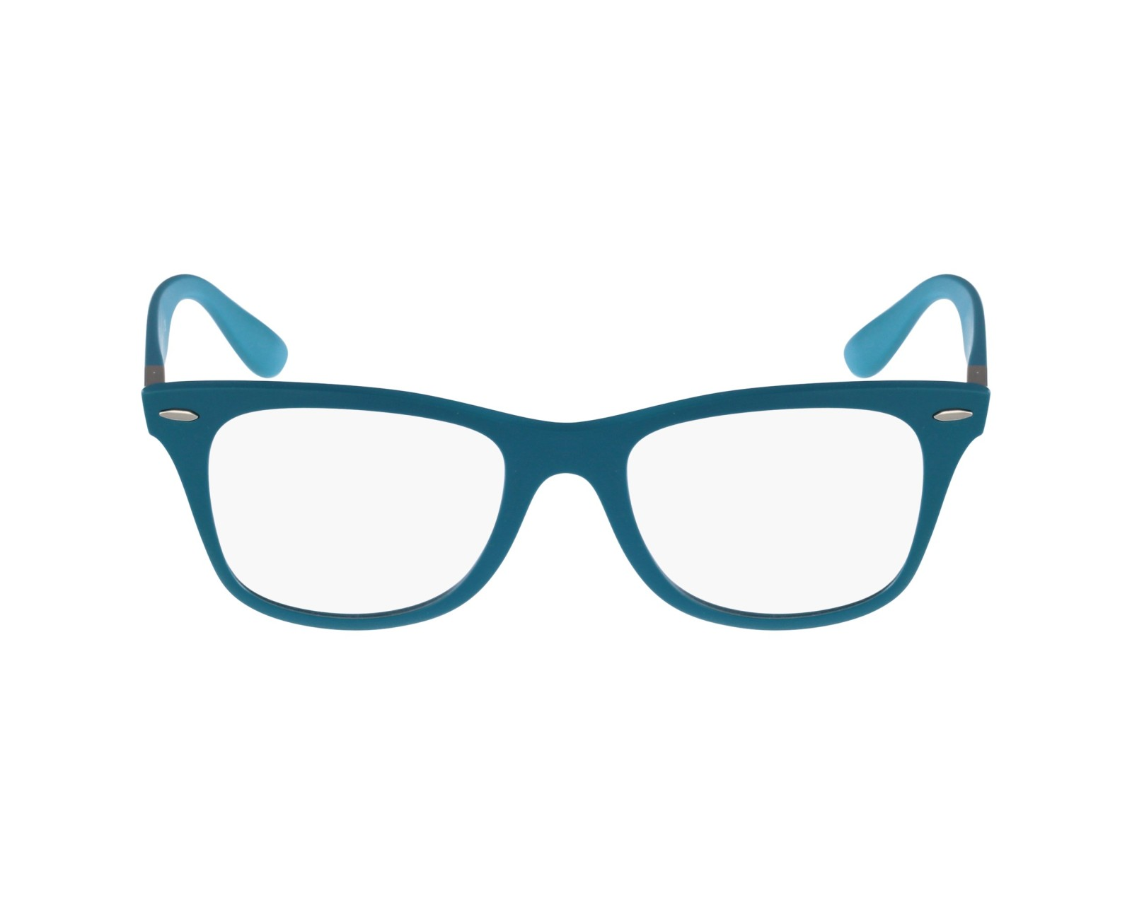 2f1f5d631a5 ... new zealand eyeglasses ray ban rx 7034 5442 50 19 turquoise profile  view 84698 413c8