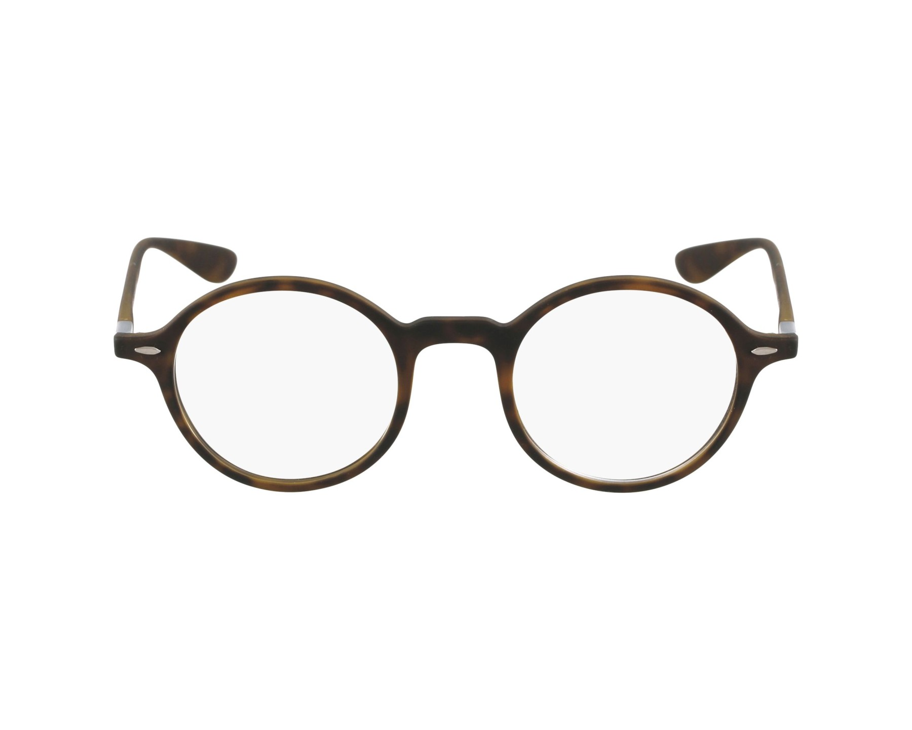 80644aadde eyeglasses Ray-Ban RX-7069 5200 43-22 Brown Gun profile view