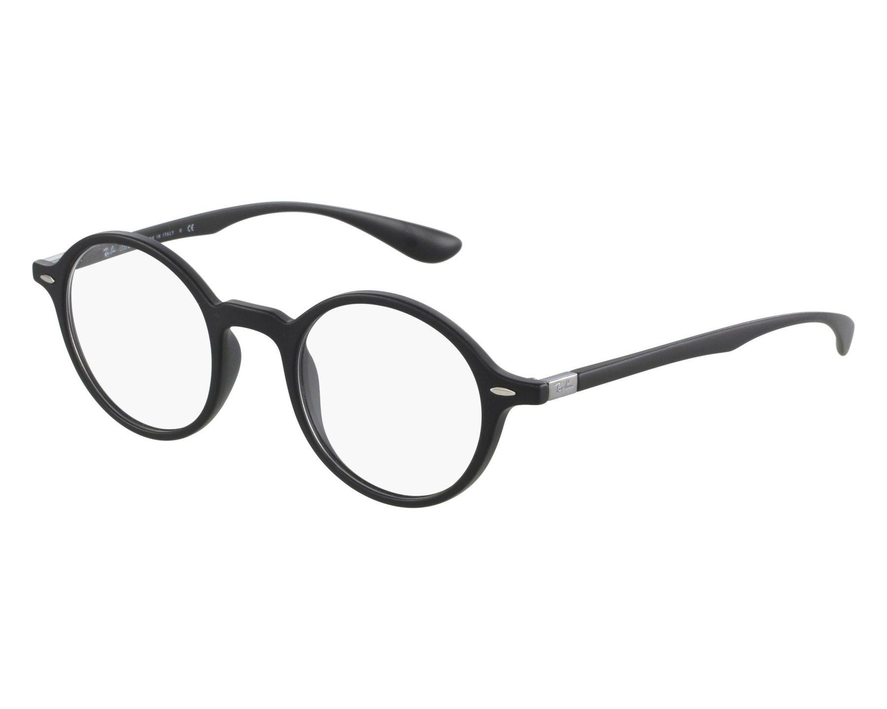 f702ef5875d80 eyeglasses Ray-Ban RX-7069 5204 43-22 Black front view