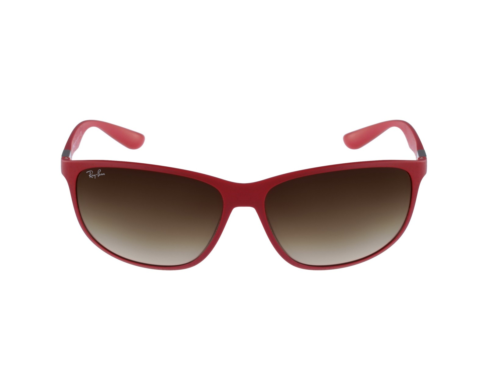 c6db057f2d thumbnail Sunglasses Ray-Ban RB-4213 6123 13 - Red Silver profile view