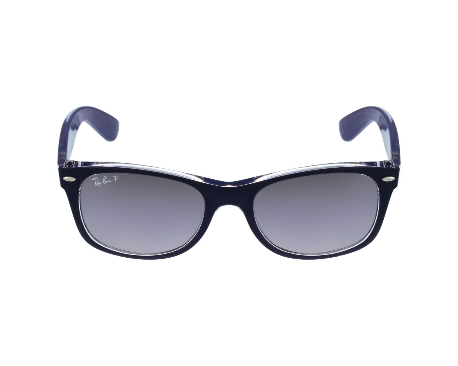 cb7df8fa36f Sunglasses Ray-Ban RB-2132 6053M3 52-18 Blue profile view