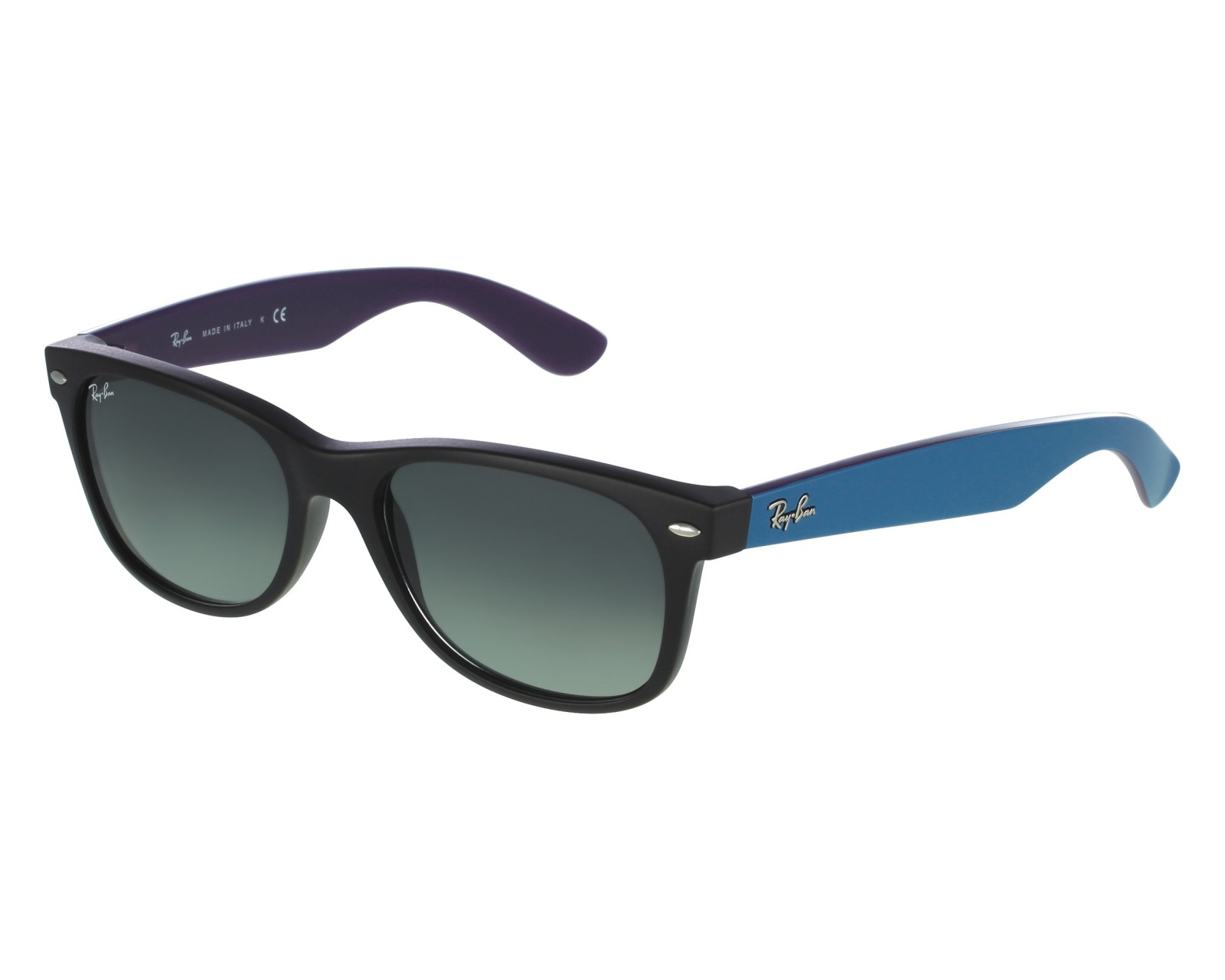 16470124cfede Sunglasses Ray-Ban RB-2132 6183 71 52-18 Black Blue front