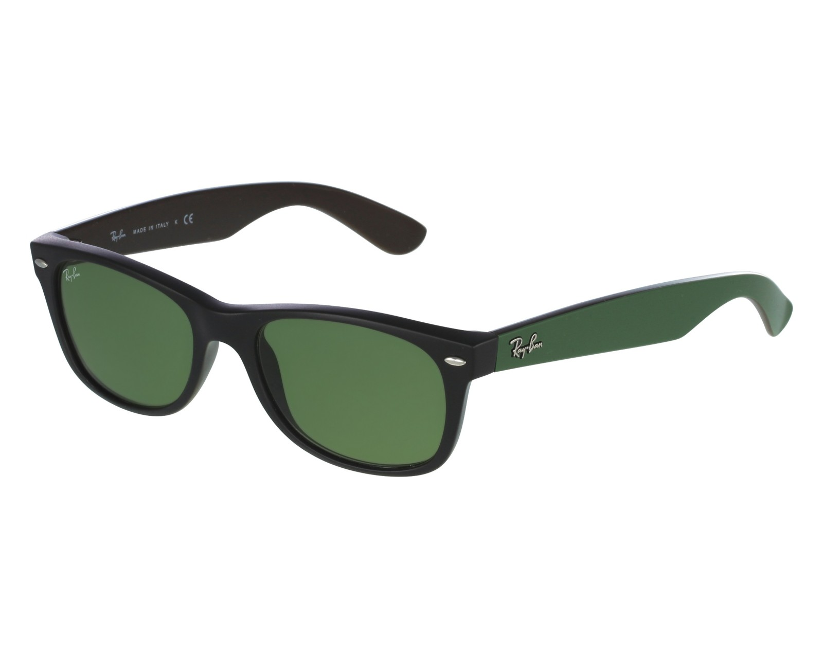 879525e119bc Sunglasses Ray-Ban RB-2132 6184 4E 52-18 Black Green front