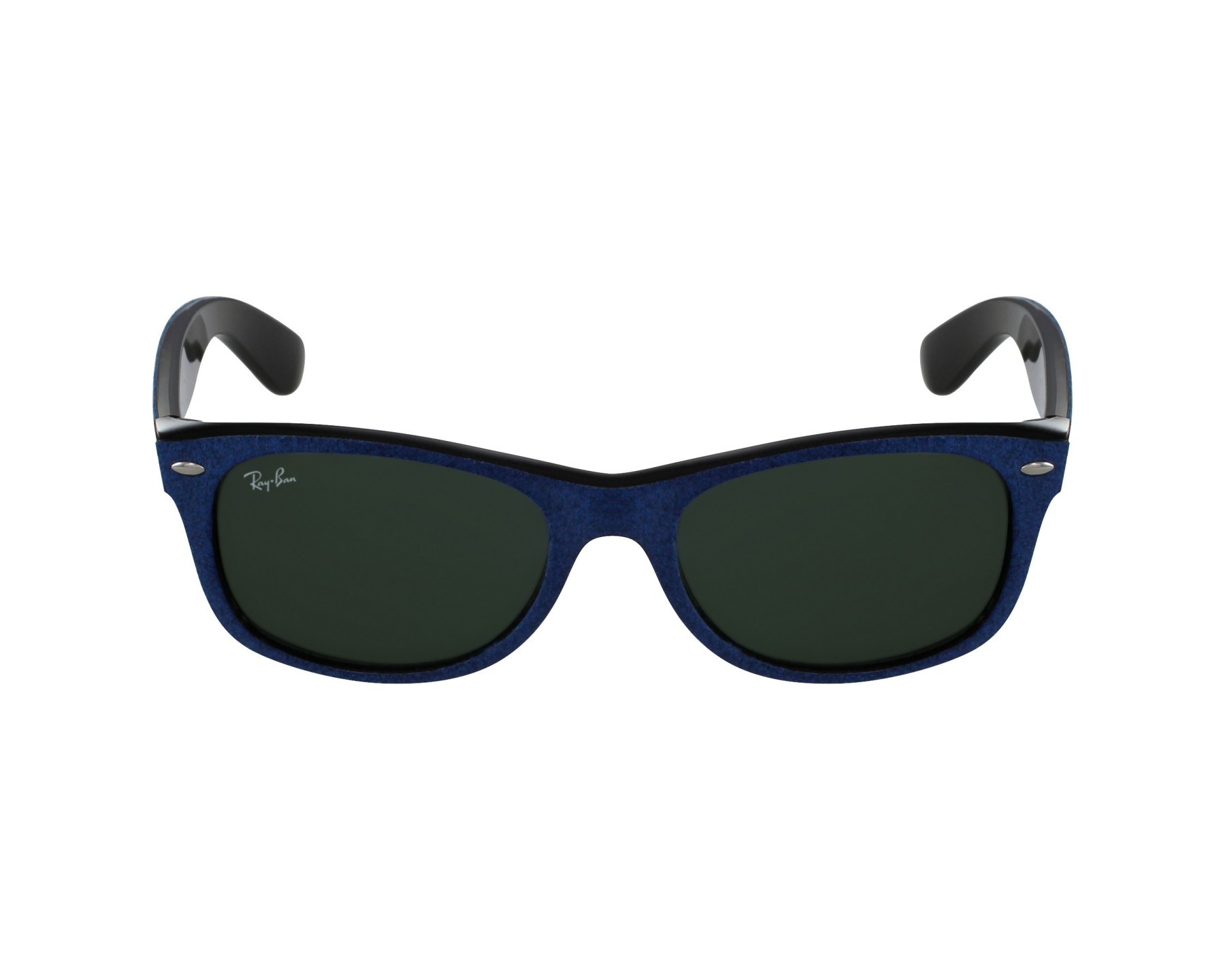 d7d7eb4c383 Sunglasses Ray-Ban RB-2132 6239 52-18 Blue Black profile view