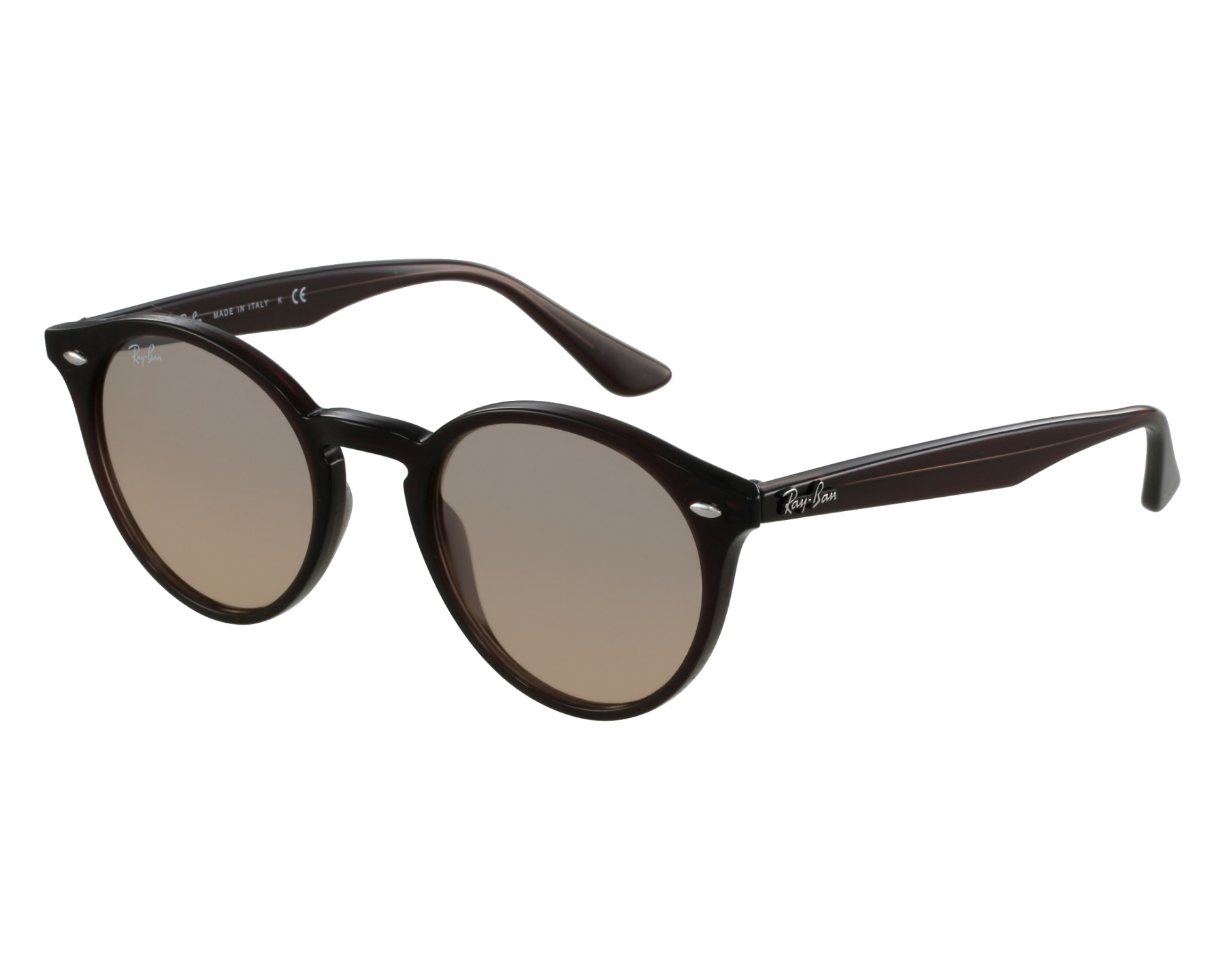 c6366df0c3b4 Sunglasses Ray-Ban RB-2180 6231 3D 49-21 Brown front view