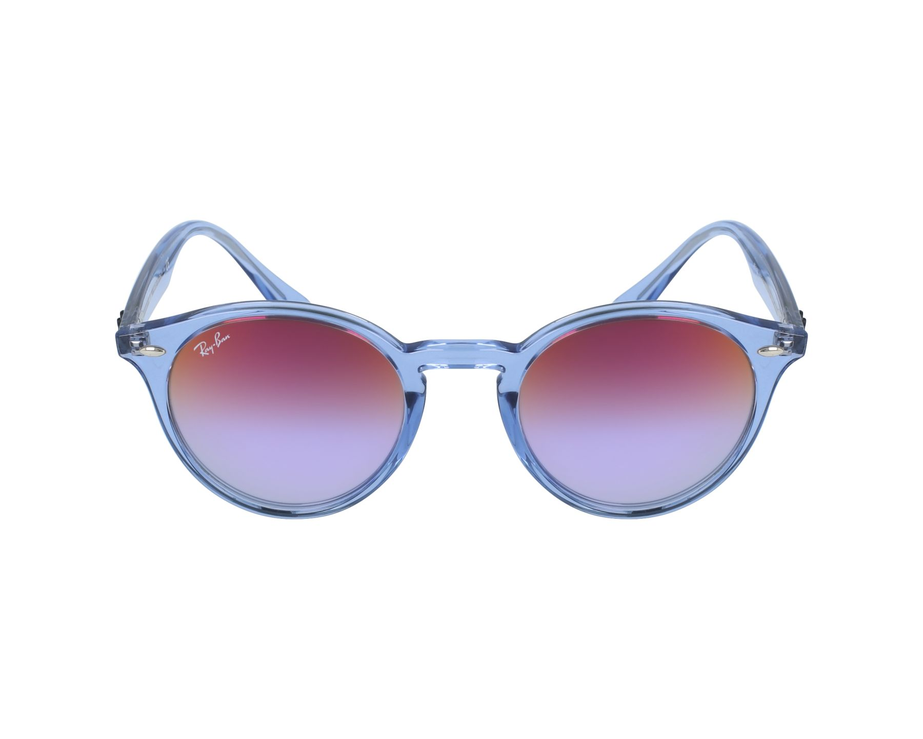 d41ed40eae Sunglasses Ray-Ban RB-2180 6278A9 49-21 Blue profile view