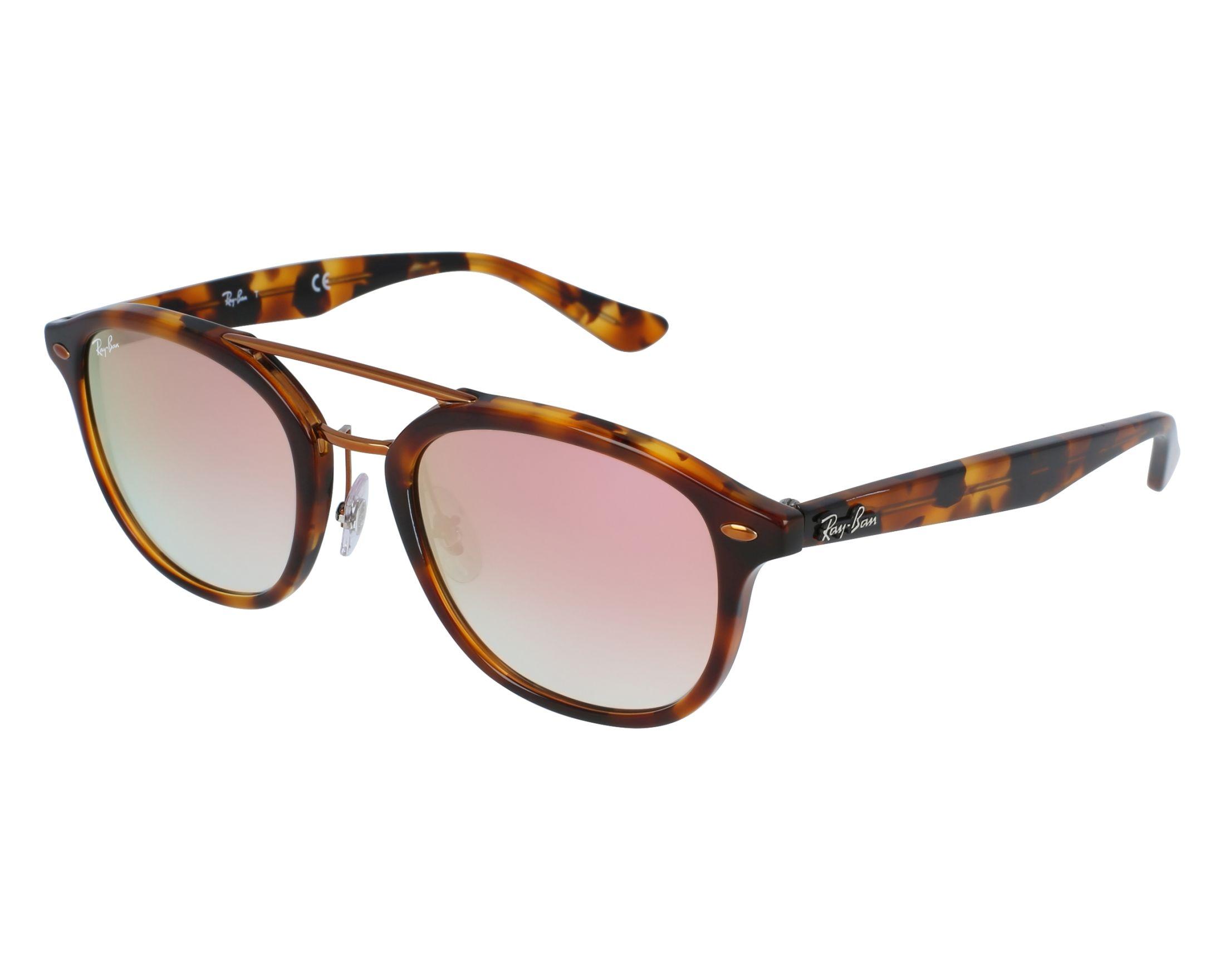 c9813876cb Sunglasses Ray-Ban RB-2183 1127B9 53-21 Havana Copper front view