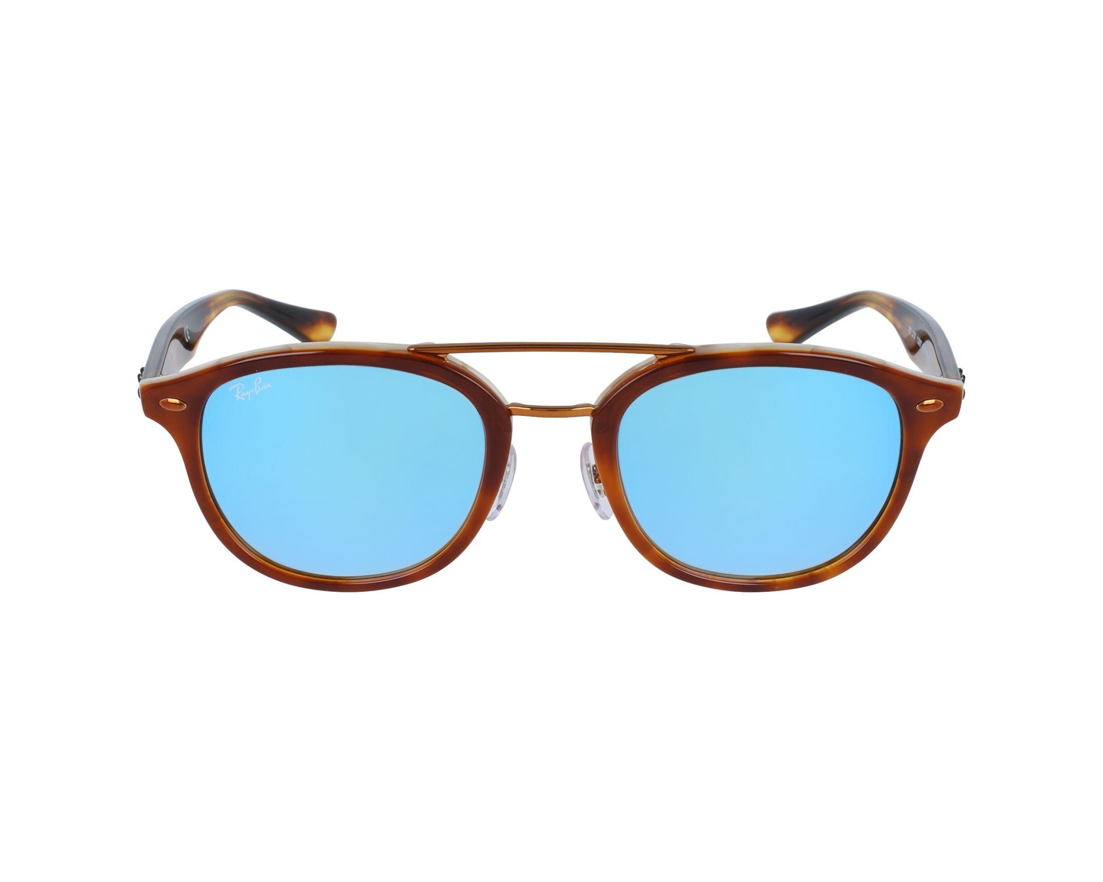 23f92c424e Sunglasses Ray-Ban RB-2183 1128B7 - Brown Havana profile view