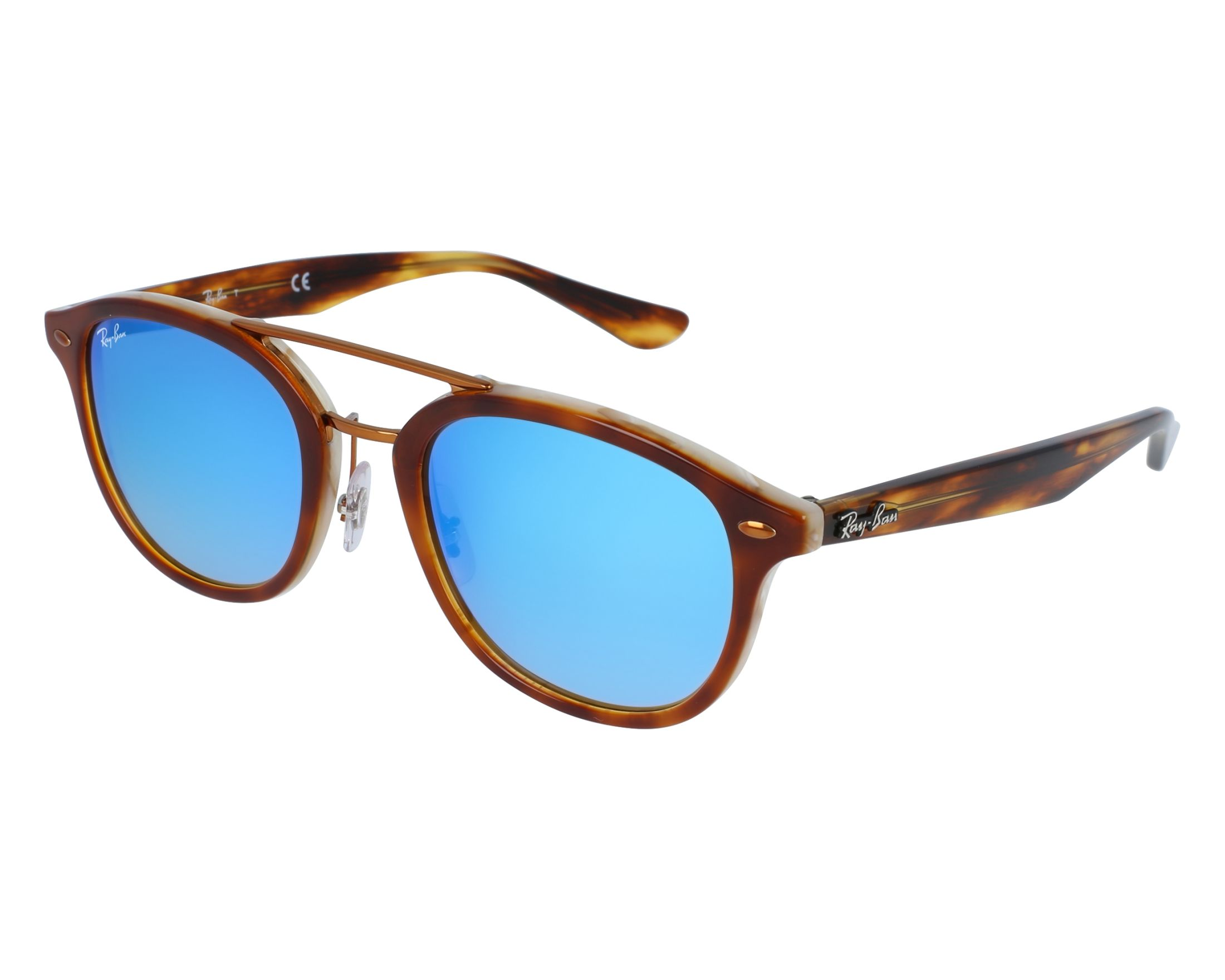 ae006c5c27 Sunglasses Ray-Ban RB-2183 1128B7 - Brown Havana front view