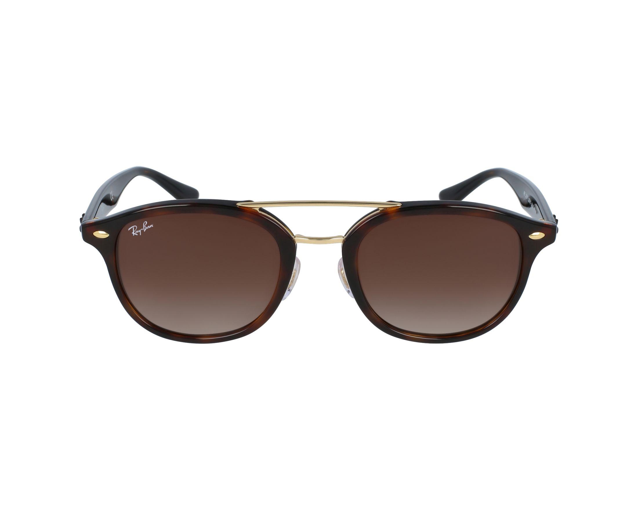 fe13b4c915f Sunglasses Ray-Ban RB-2183 122513 - Havana Gold profile view