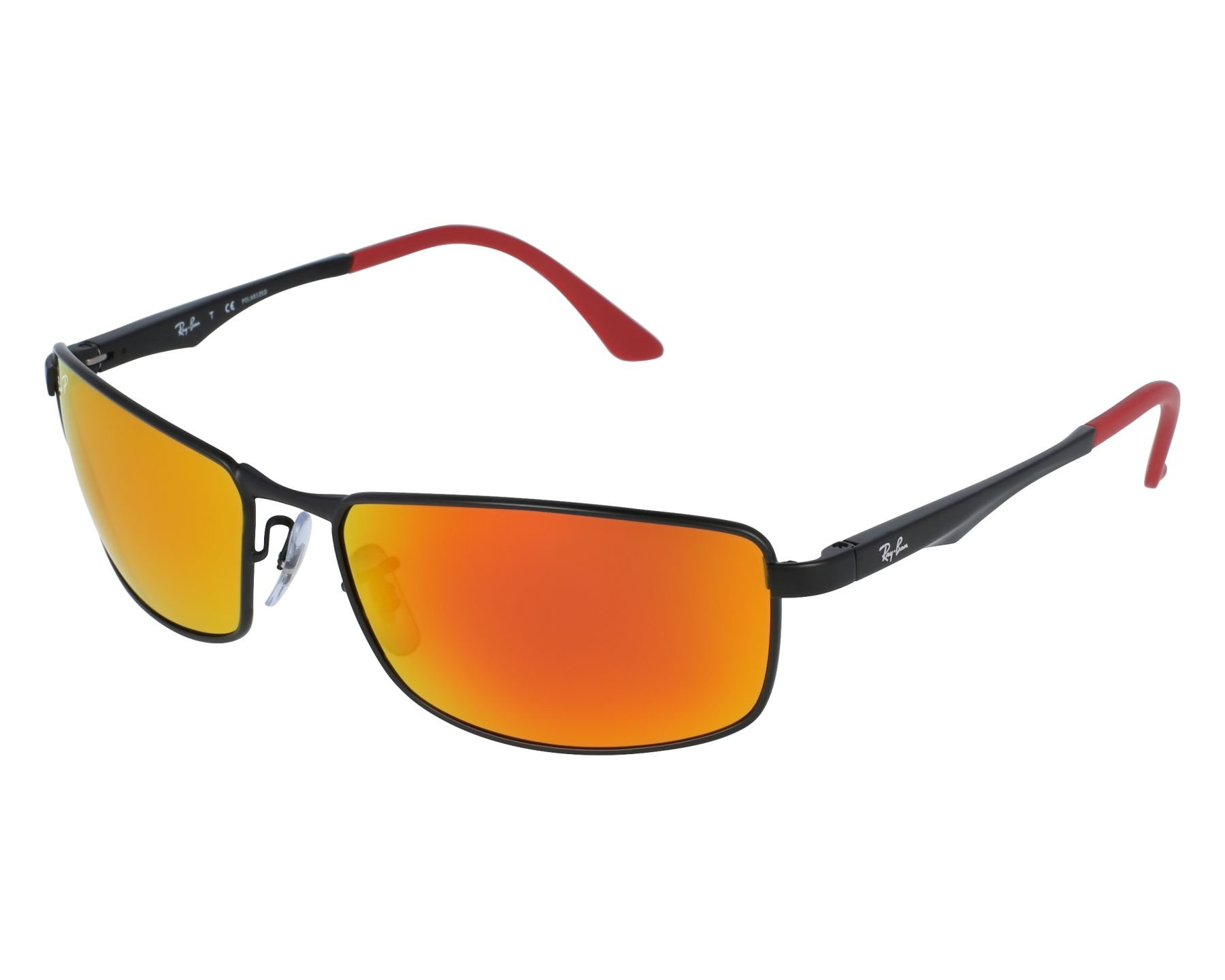 62577753d2 thumbnail Sunglasses Ray-Ban RB-3498 006 6S - Black front view