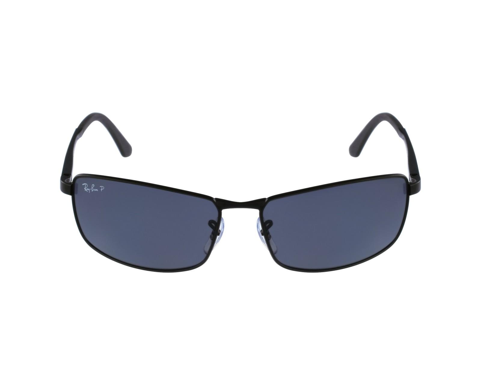 e8a29e9428 Sunglasses Ray-Ban RB-3498 006 81 61-17 Black profile view