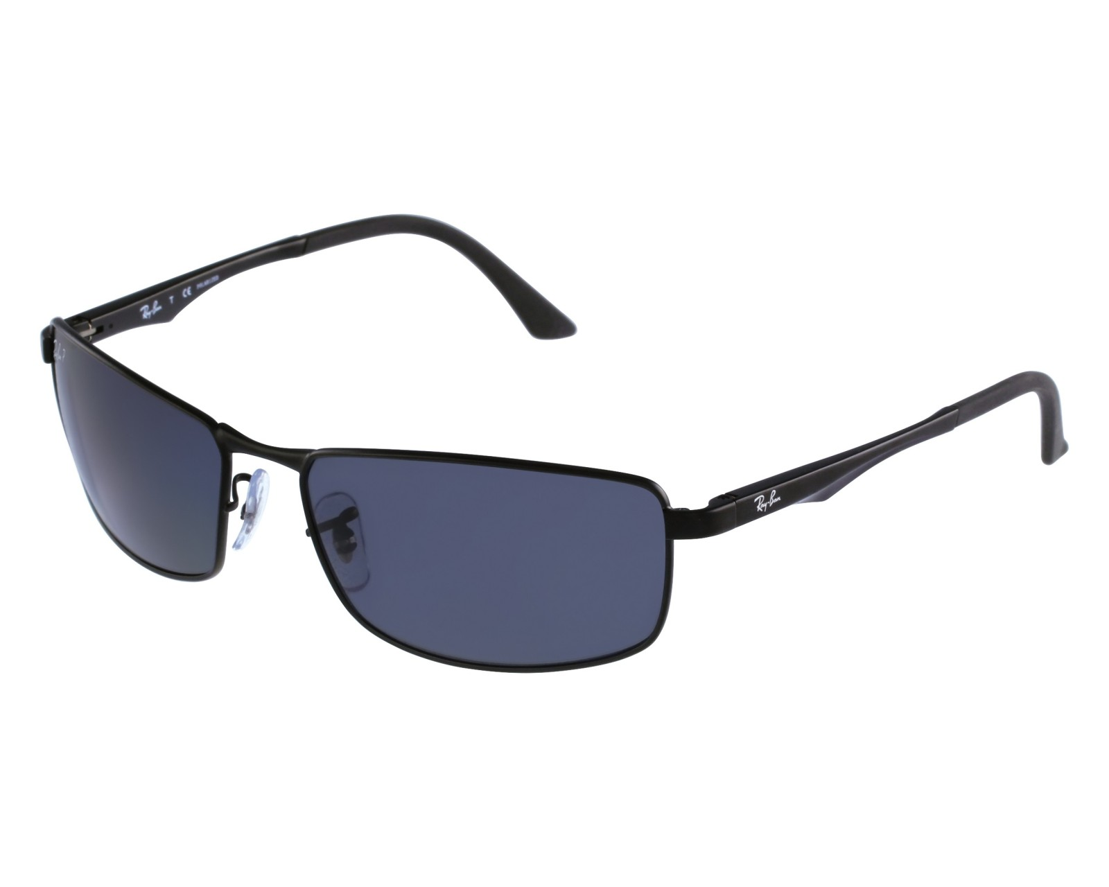 4ea9e88339 Sunglasses Ray-Ban RB-3498 006 81 61-17 Black front view