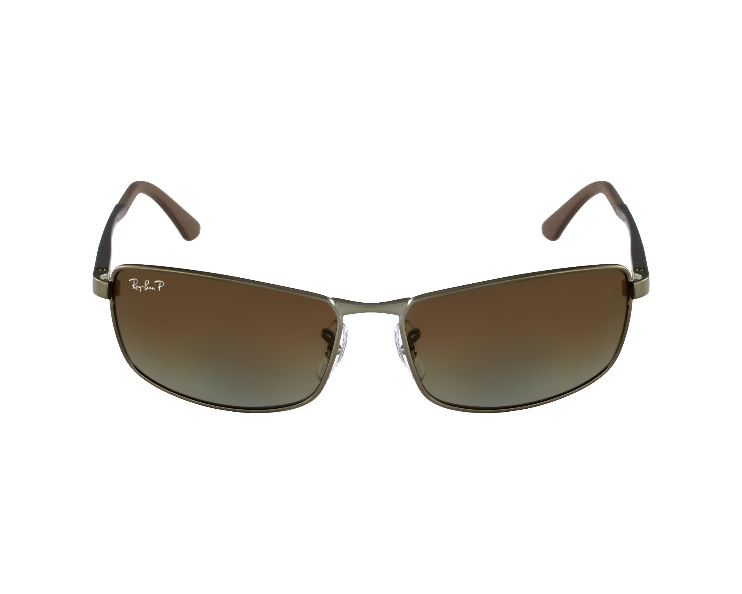 e173e8ac1d Sunglasses Ray-Ban RB-3498 029 T5 61-17 Gun Grey profile