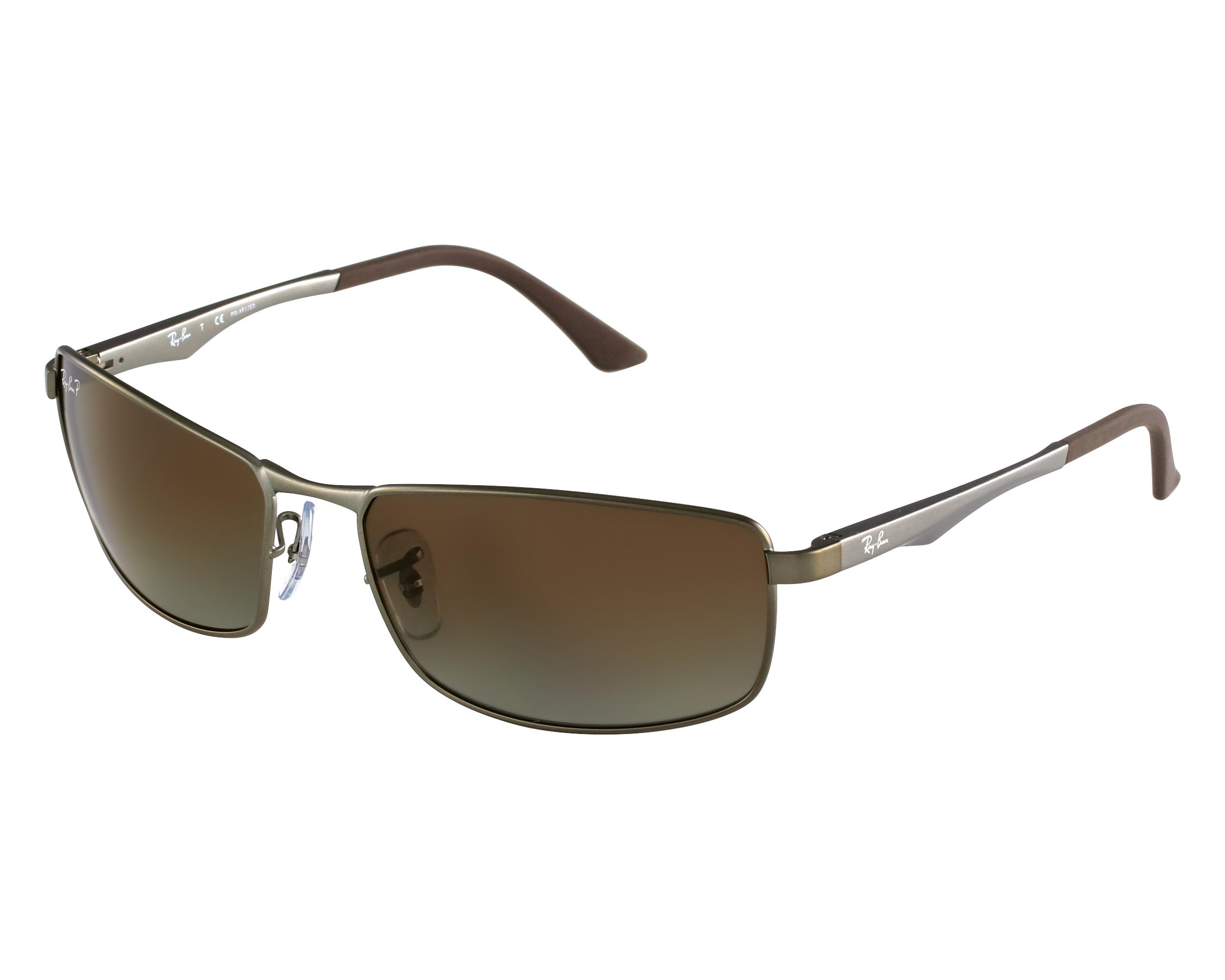 33c5aecc6e Sunglasses Ray-Ban RB-3498 029 T5 61-17 Gun Grey front