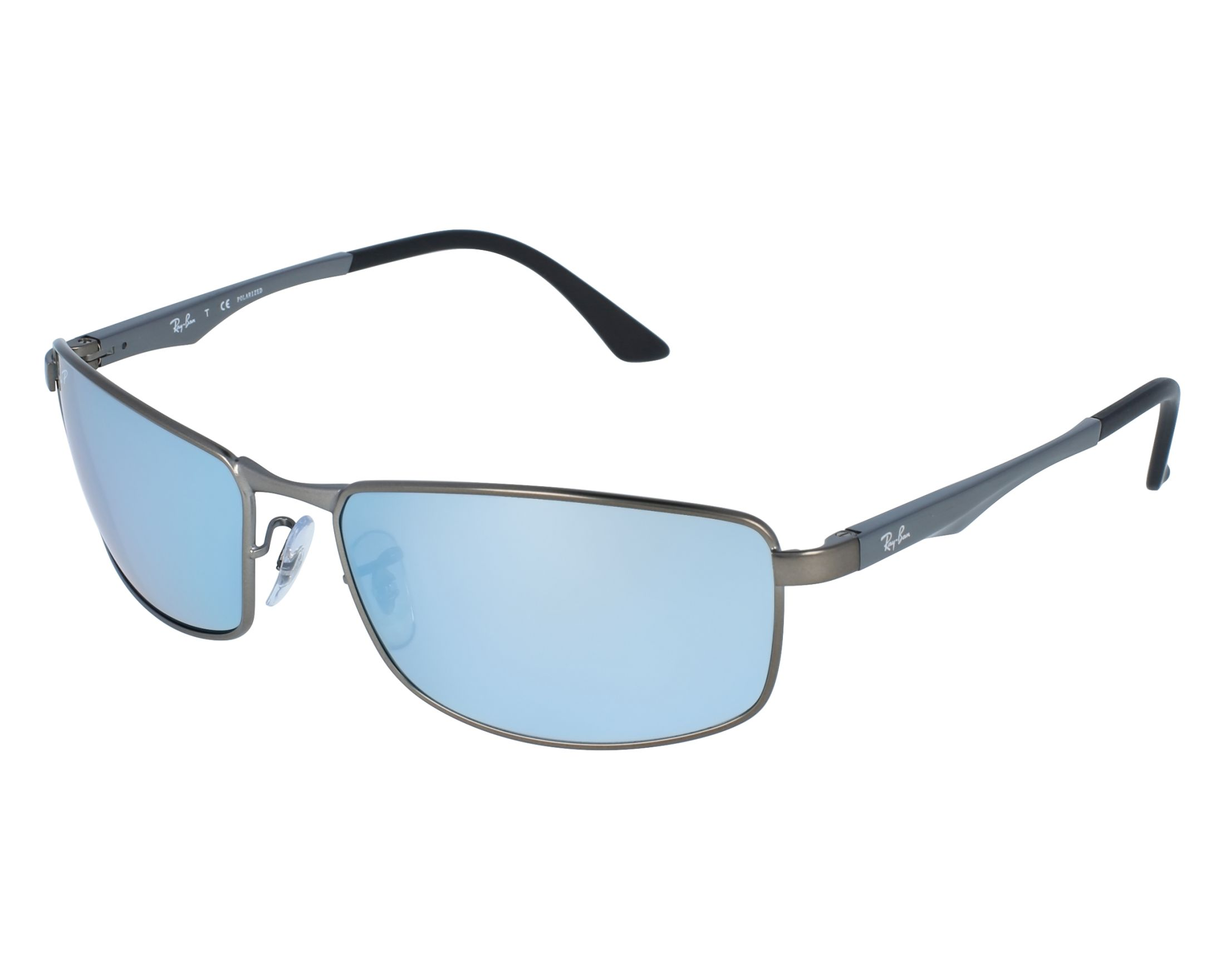 e76c84e823 thumbnail Sunglasses Ray-Ban RB-3498 029 Y4 - Grey front view