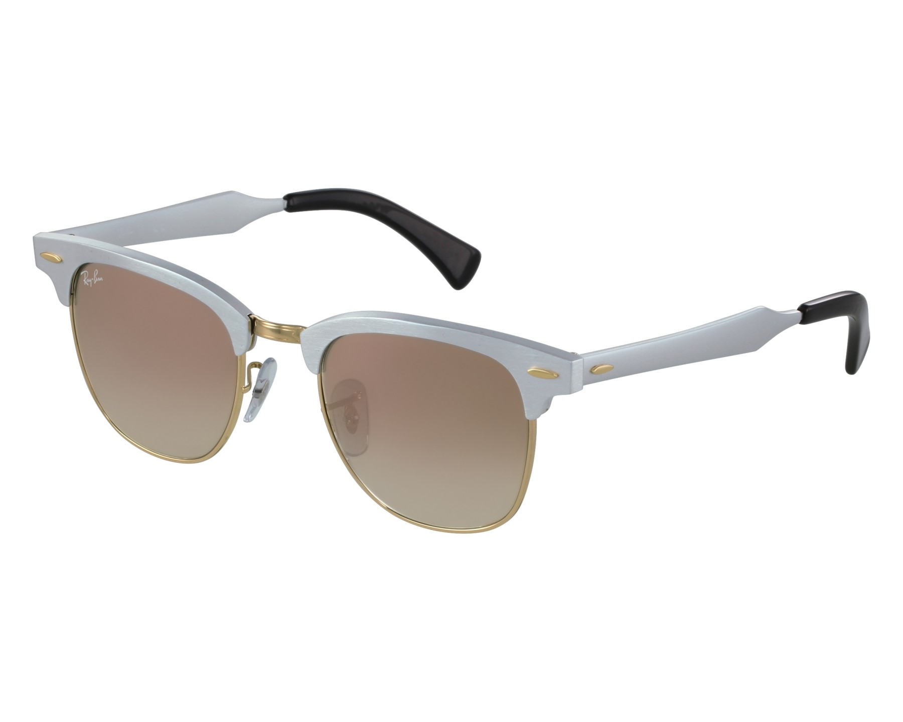 db4ec5c9c8 Sunglasses Ray-Ban RB-3507 137 7O 49-21 Silver Gold front