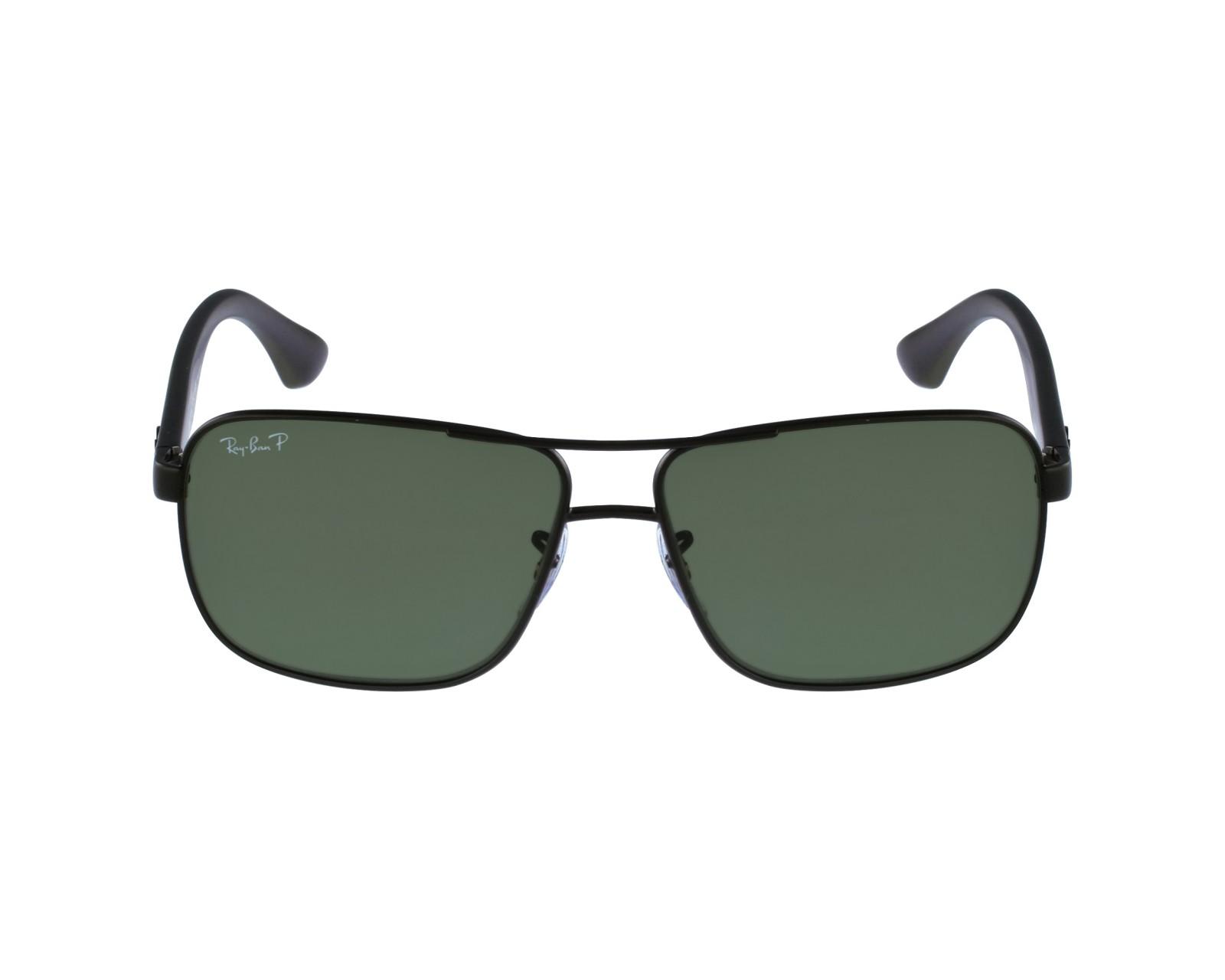 527f4ec8901 Polarized. Sunglasses Ray-Ban RB-3516 006 9A - Black profile view