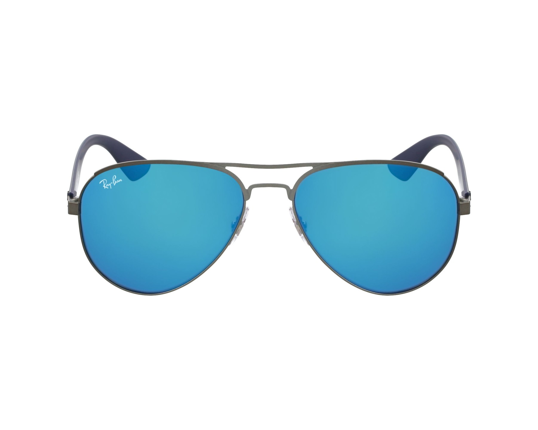 abf6a3d404 Sunglasses Ray-Ban RB-3523 029 55 59-17 Gun Blue profile