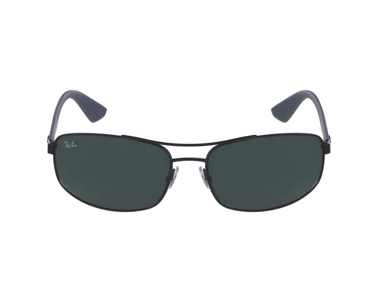 c4aa22b8172 thumbnail Sunglasses Ray-Ban RB-3527 006 71 - Black Grey profile view