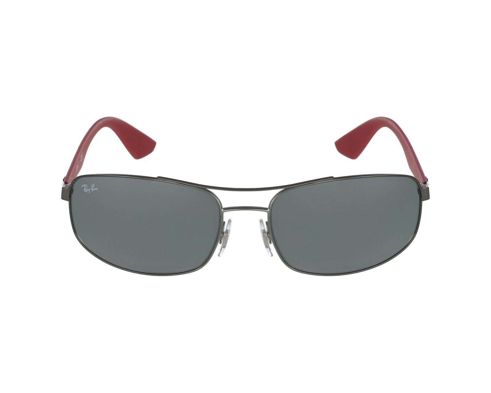 0cb0dc26a33 thumbnail Sunglasses Ray-Ban RB-3527 029 6G - Gun Red profile view