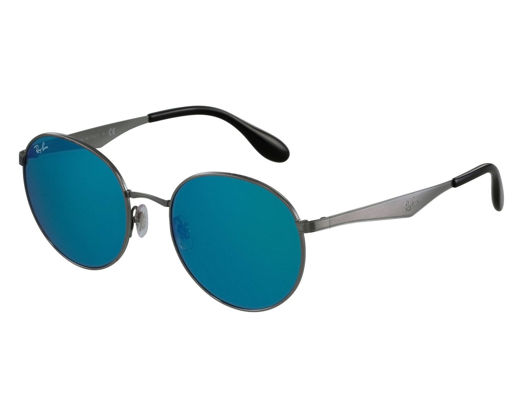 5be7671b9a Sunglasses Ray-Ban RB-3537 004 55 51-19 Gun front view