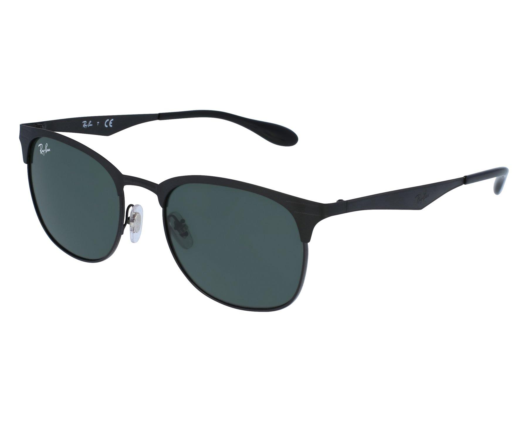501c9c1a62e Sunglasses Ray-Ban RB-3538 186 71 53-19 Black Black front