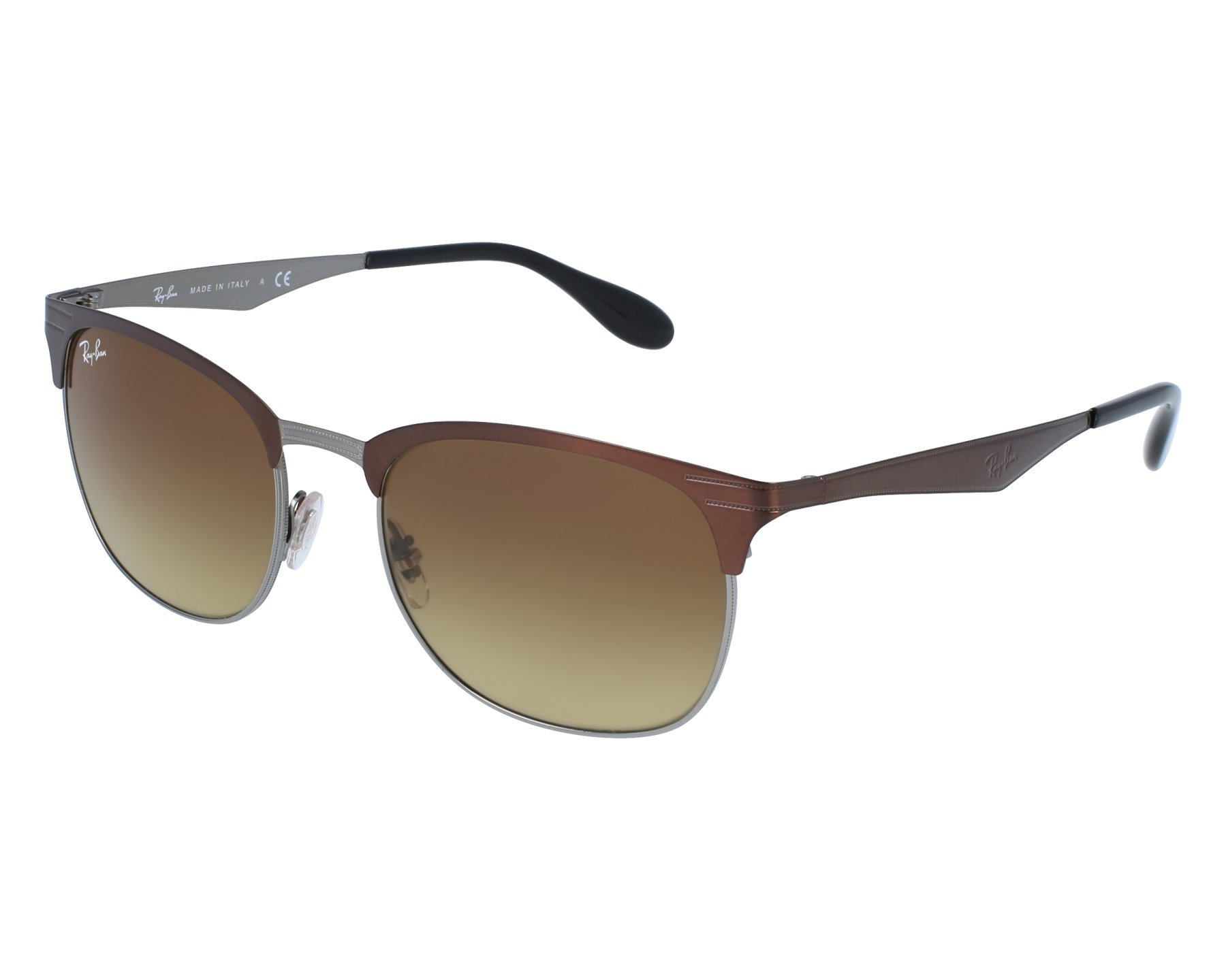 thumbnail Sunglasses Ray-Ban RB-3538 188 13 - Brown Grey front view ef5be0fc2a
