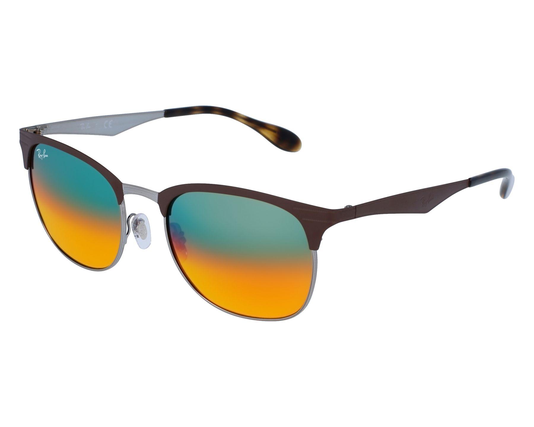 368531e5e91 Sunglasses Ray-Ban RB-3538 9006 A8 53-19 Brown Silver front