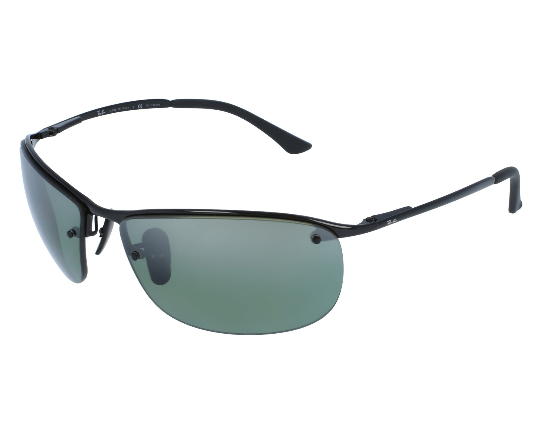 Sunglasses Ray-Ban RB-3542 002 5L 63-15 Black front view 51d96fbcf20b