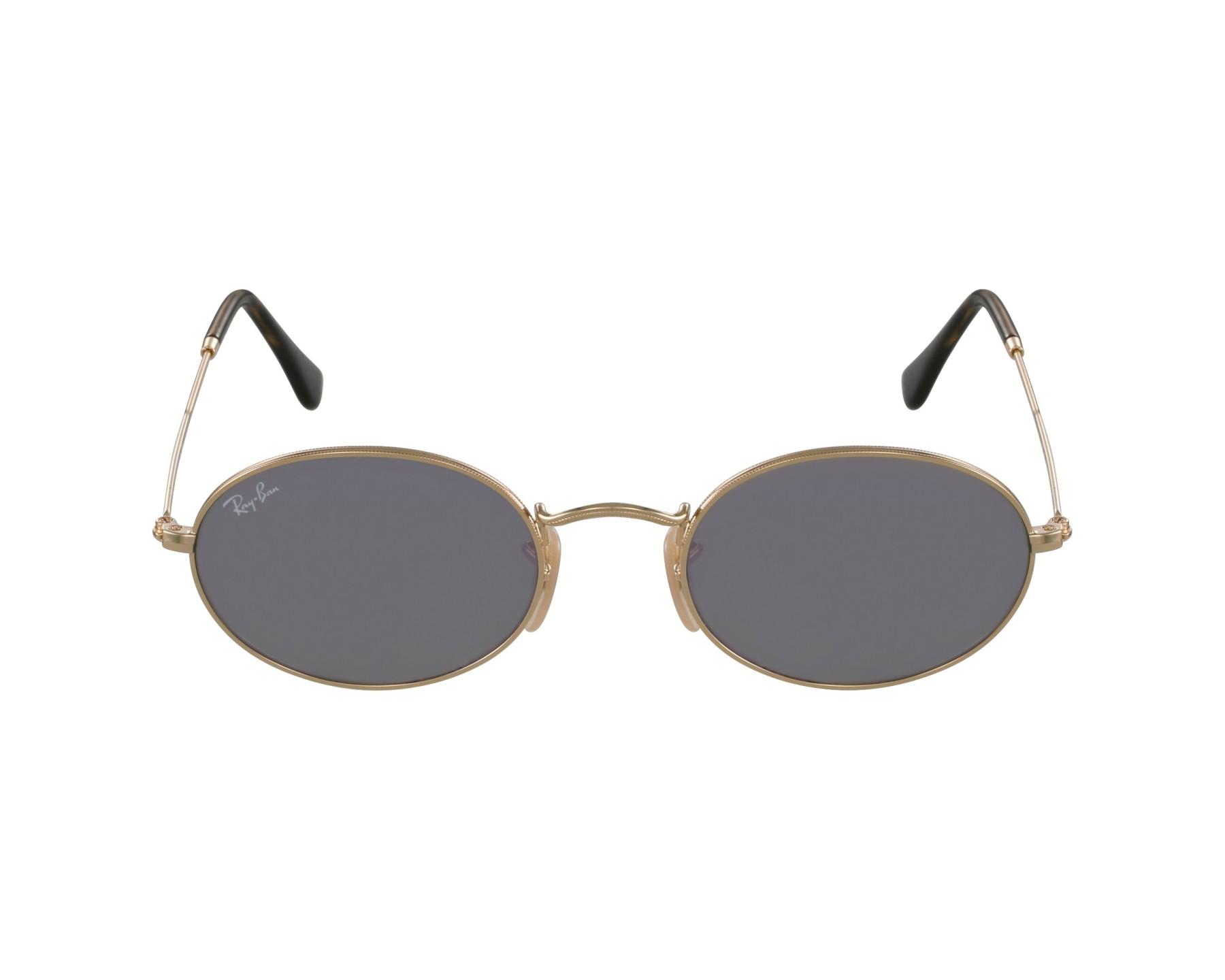 c7e6b96a28 Sunglasses Ray-Ban RB-3547-N 001 8O - Gold profile view