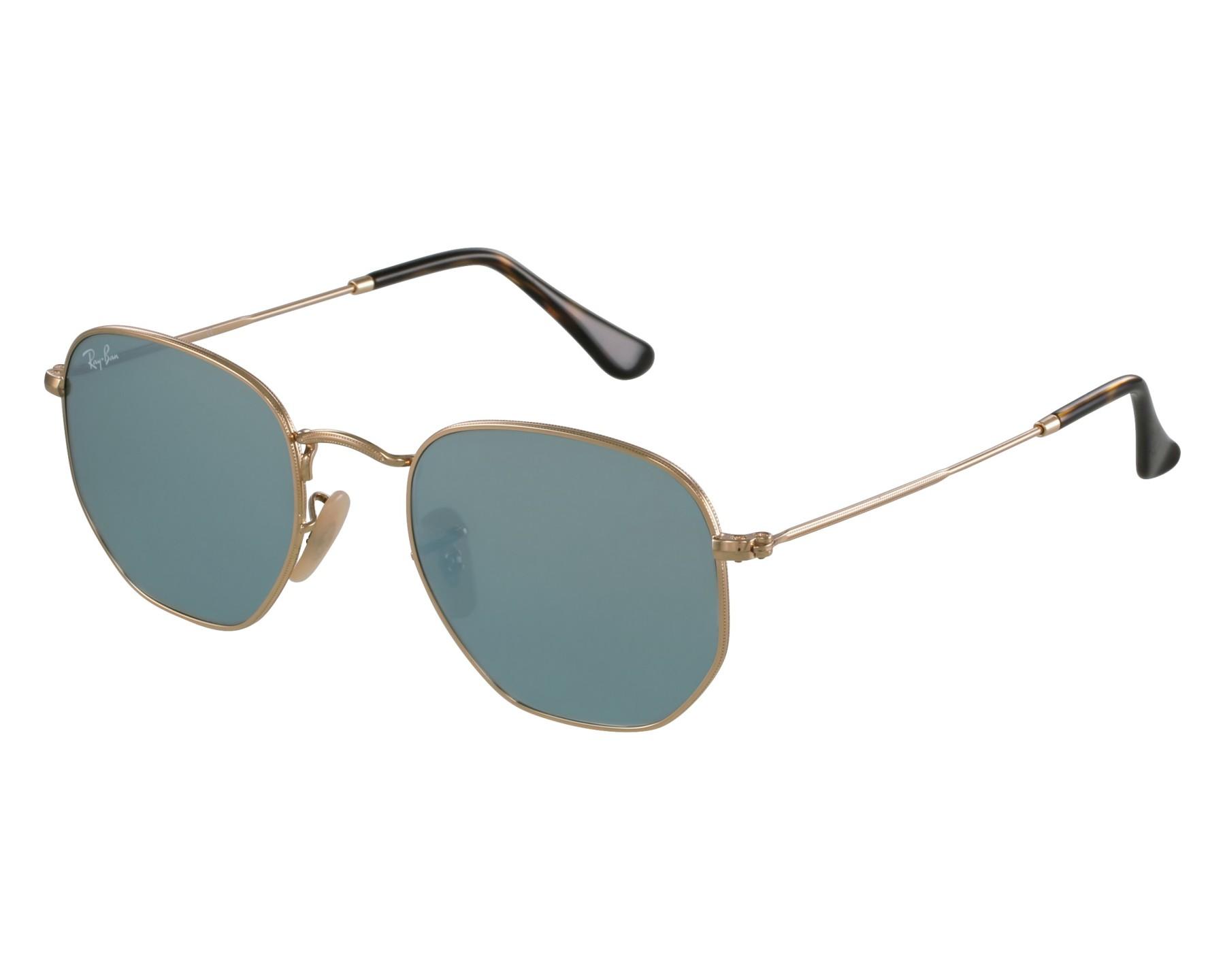 d68380c6ea6 Ray-Ban Sunglasses Hexagonal Flat Lenses RB-3548-N 001 30