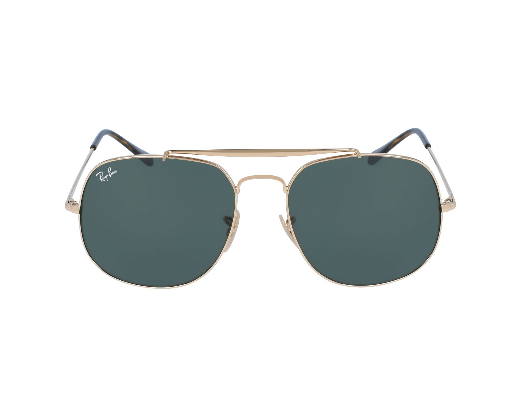 29aa596564032 Sunglasses Ray-Ban RB-3561 001 57-17 Gold profile view