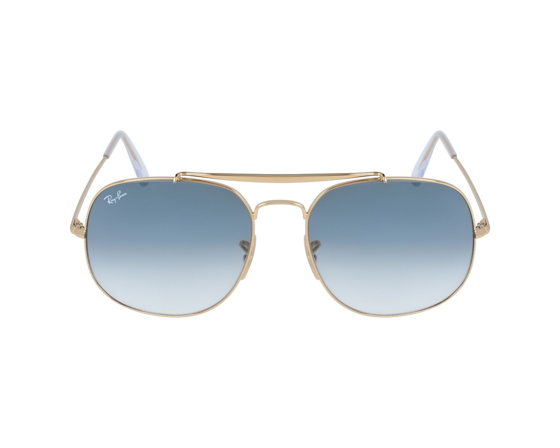 b7cdde0b8fe50 thumbnail Sunglasses Ray-Ban RB-3561 001 3F - Gold profile view