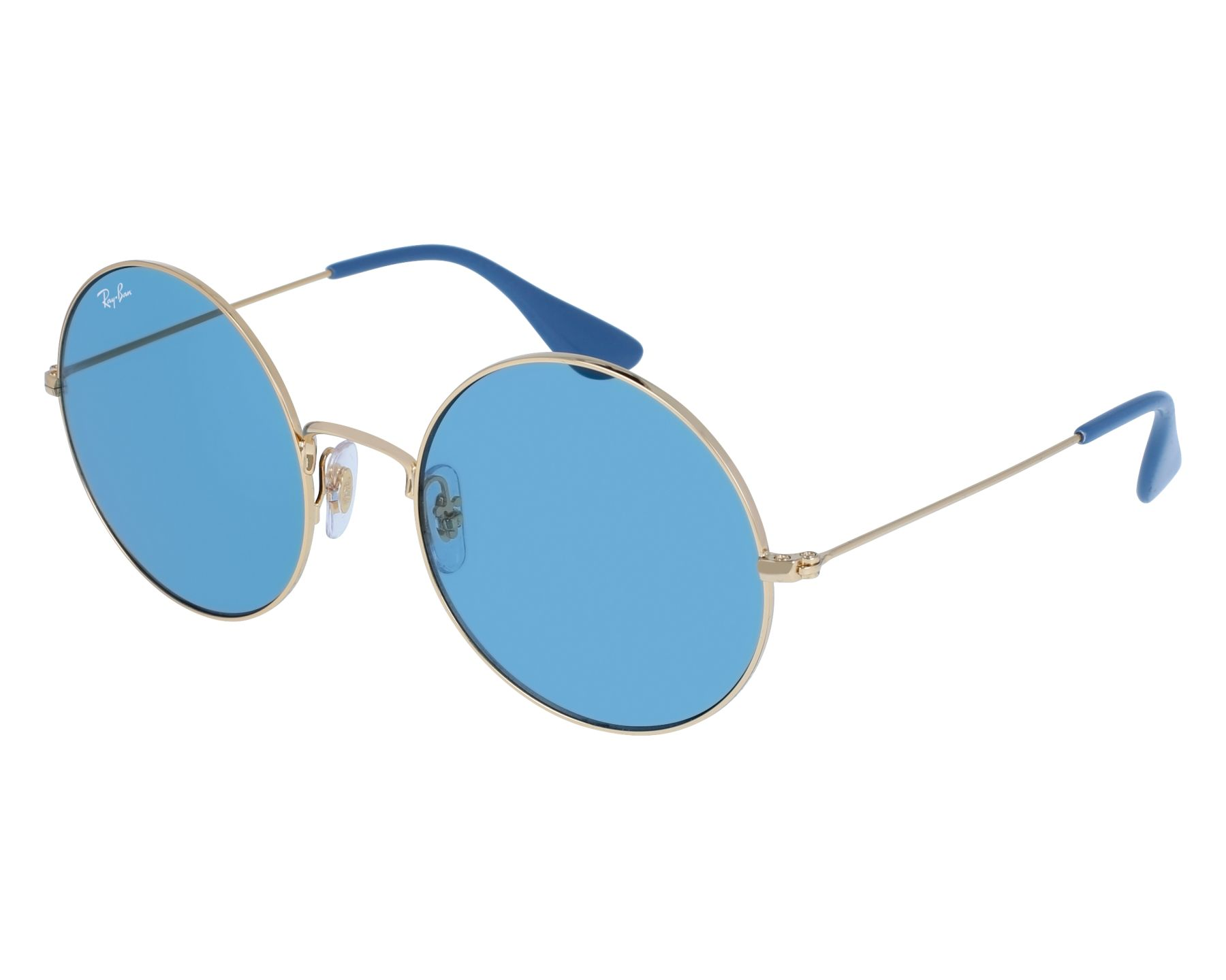 ed8b3dd97cd Sunglasses Ray-Ban RB-3592 001 F7 55-20 Gold front view