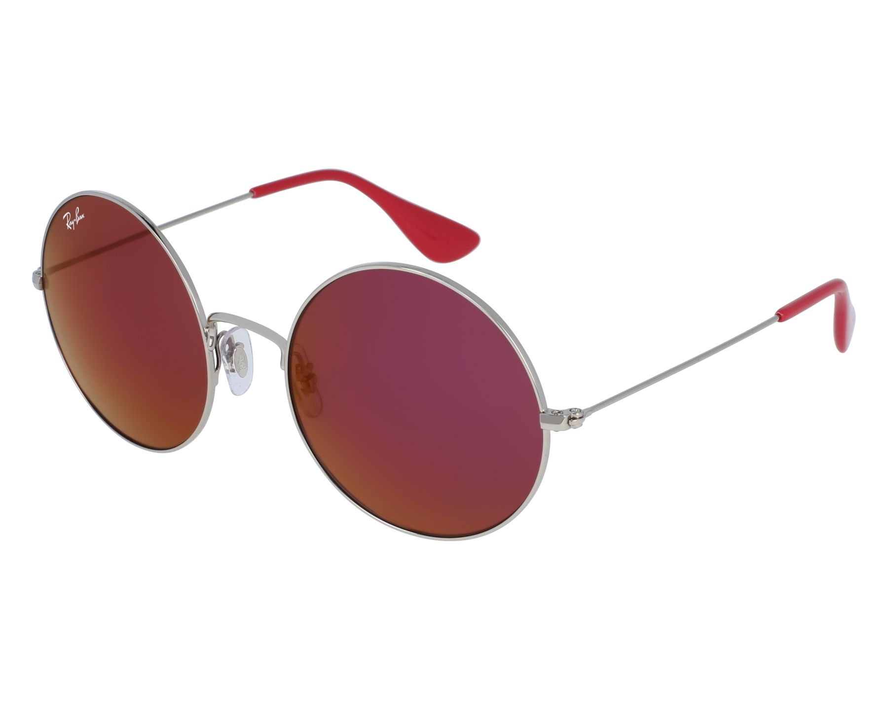 eff56cebca4 Sunglasses Ray-Ban RB-3592 003 D0 55-20 Silver front view