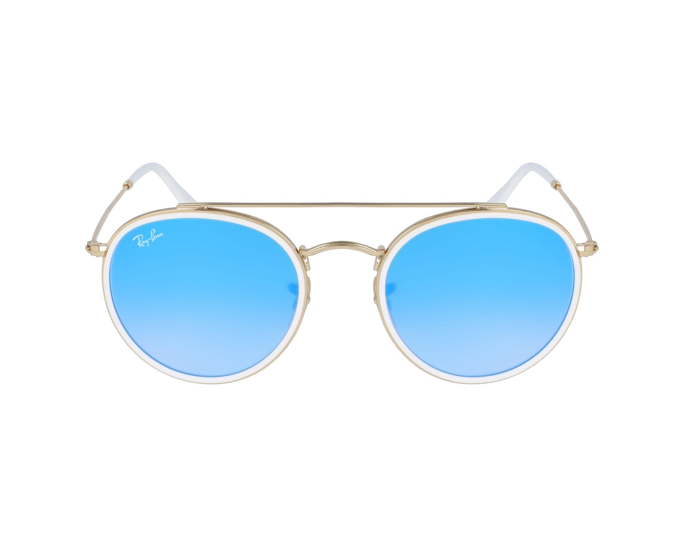 1b5d5b80611eb Sunglasses Ray-Ban RB-3647-N 001 4O - Gold White profile