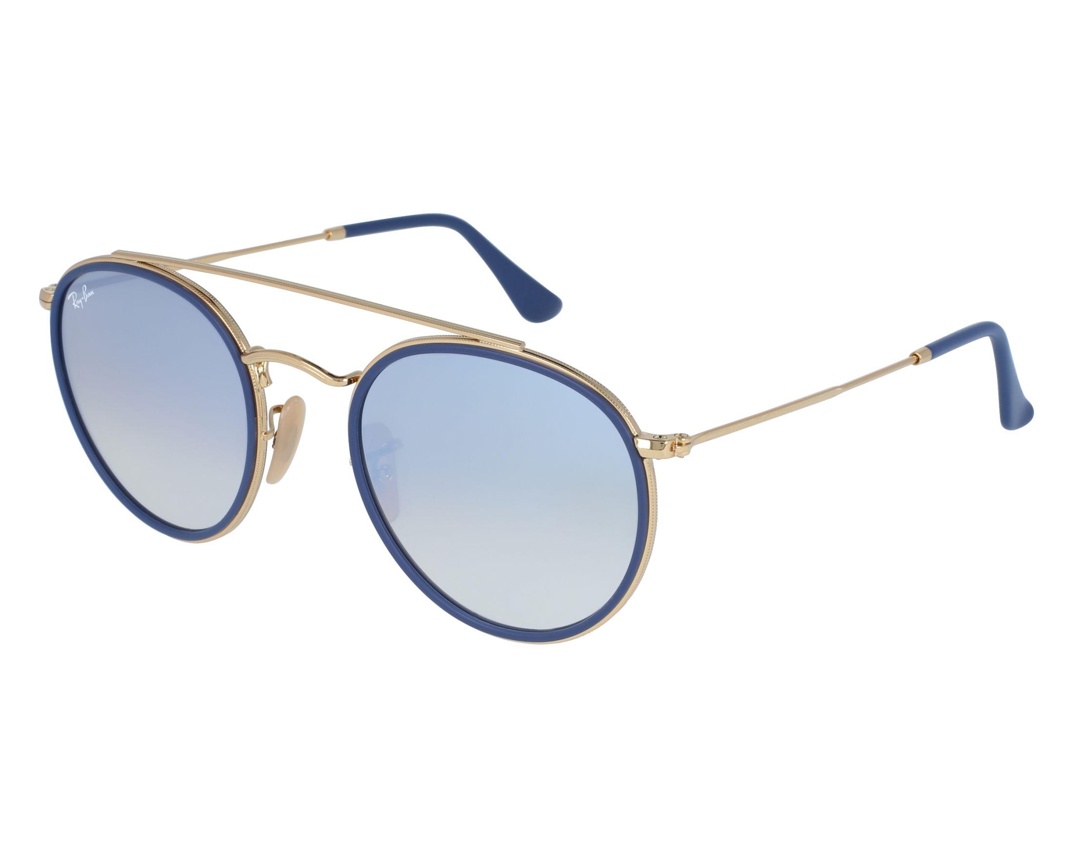 ba2ec4915edf6 Sunglasses Ray-Ban RB-3647-N 001 9U 51-22 Gold