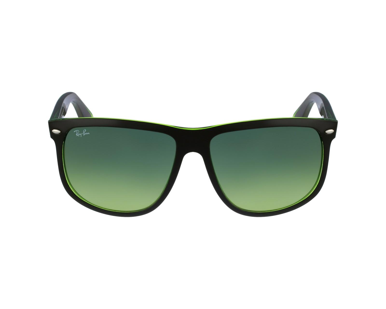 3cce4871ff thumbnail Sunglasses Ray-Ban RB-4147 6094 3M - Black Green profile view