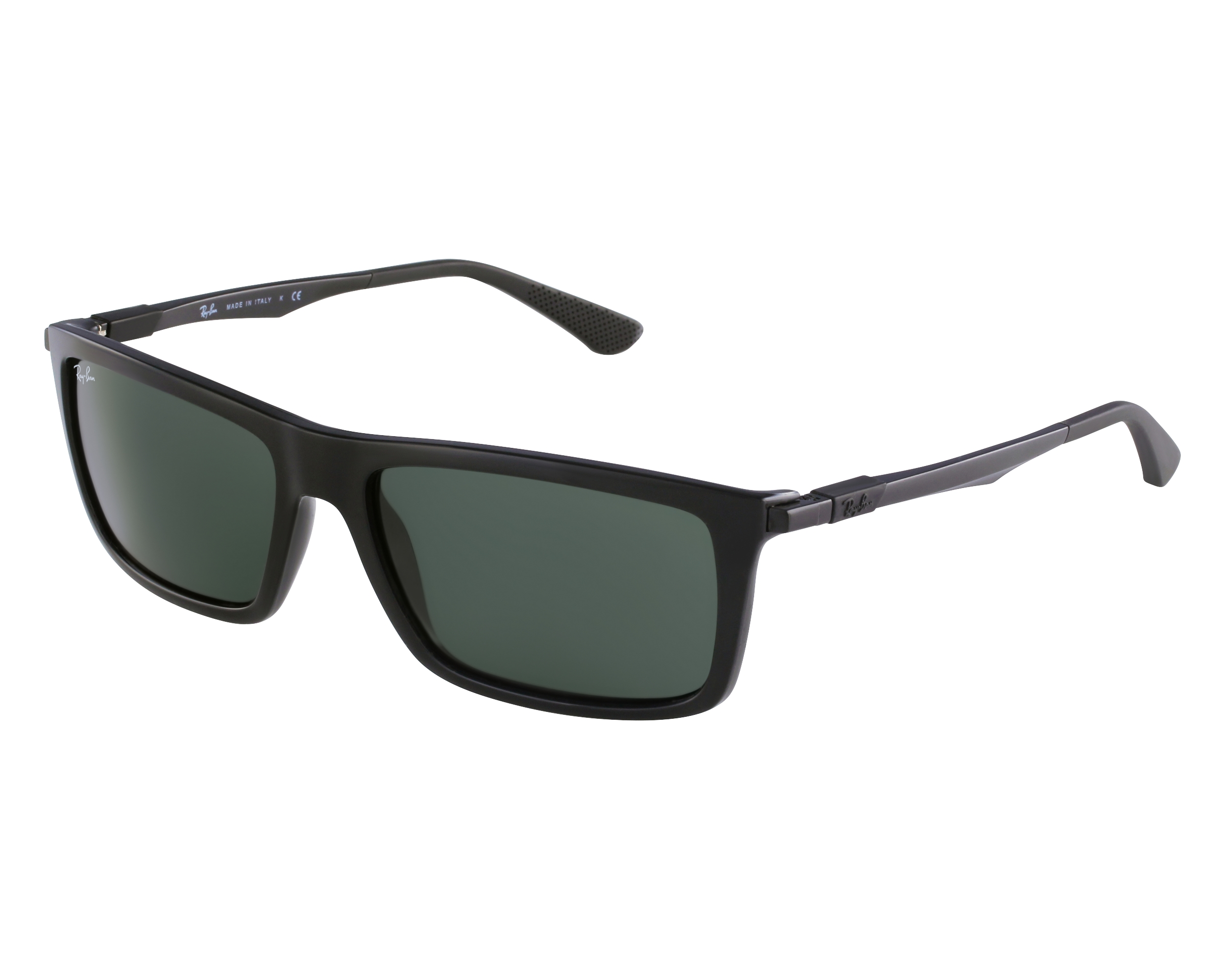 727a005f15 thumbnail Sunglasses Ray-Ban RB-4214 601 71 - Black Black front view