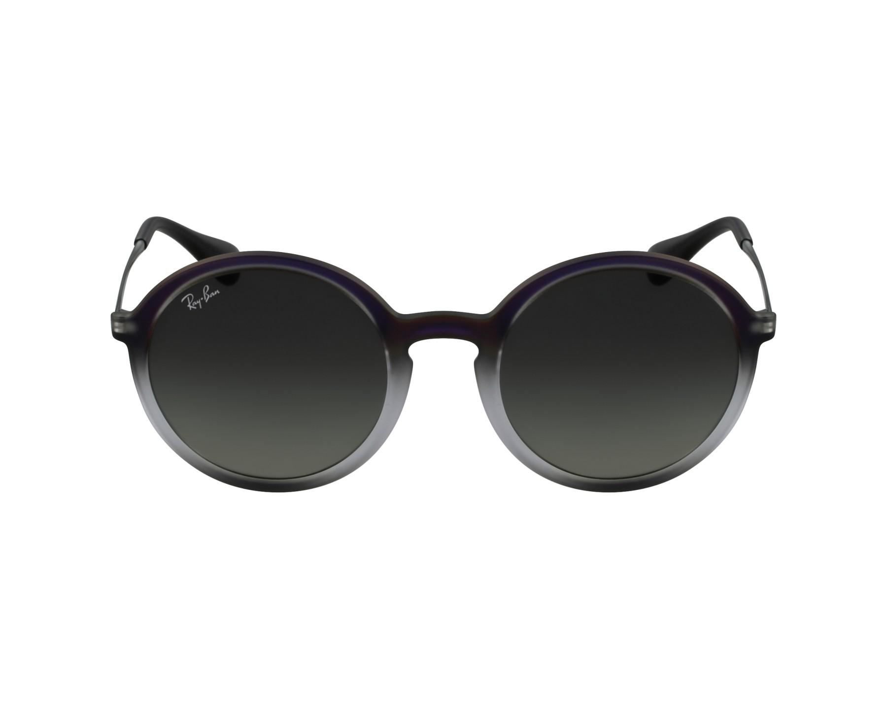 100e08ee6badc thumbnail Sunglasses Ray-Ban RB-4222 6223 11 - Purple Grey profile view