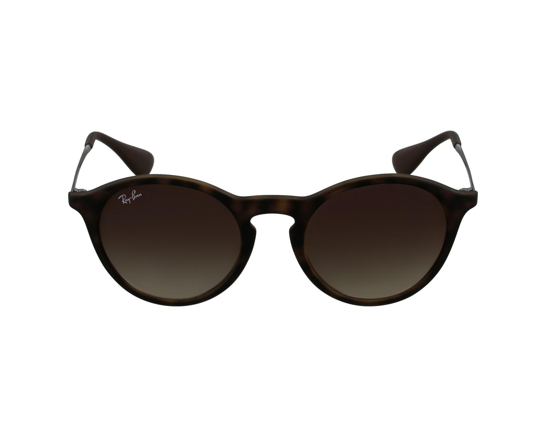 bdd2e08c607 thumbnail Sunglasses Ray-Ban RB-4243 865 13 - Havana Gun profile view