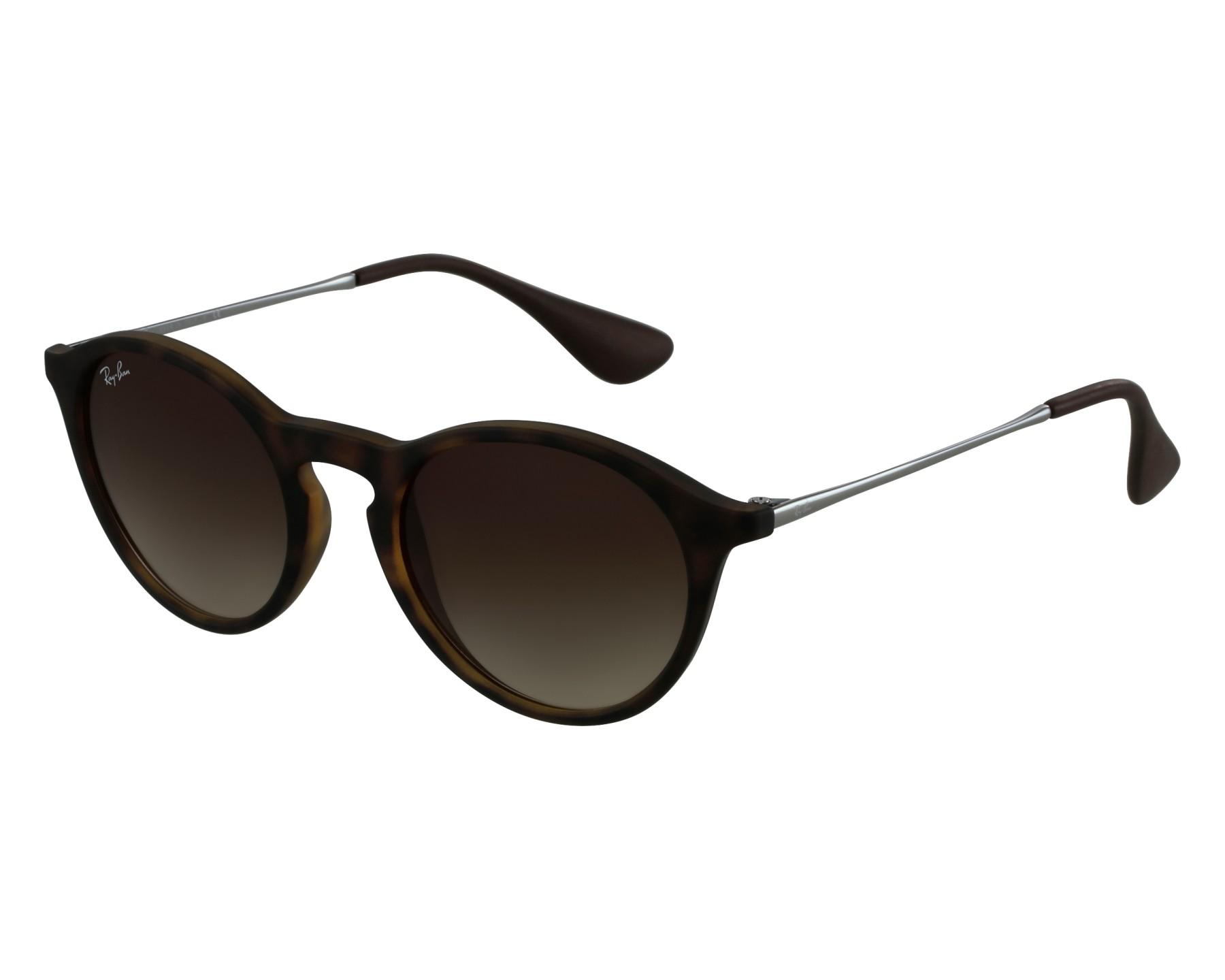 9e04435d84b thumbnail Sunglasses Ray-Ban RB-4243 865 13 - Havana Gun front view