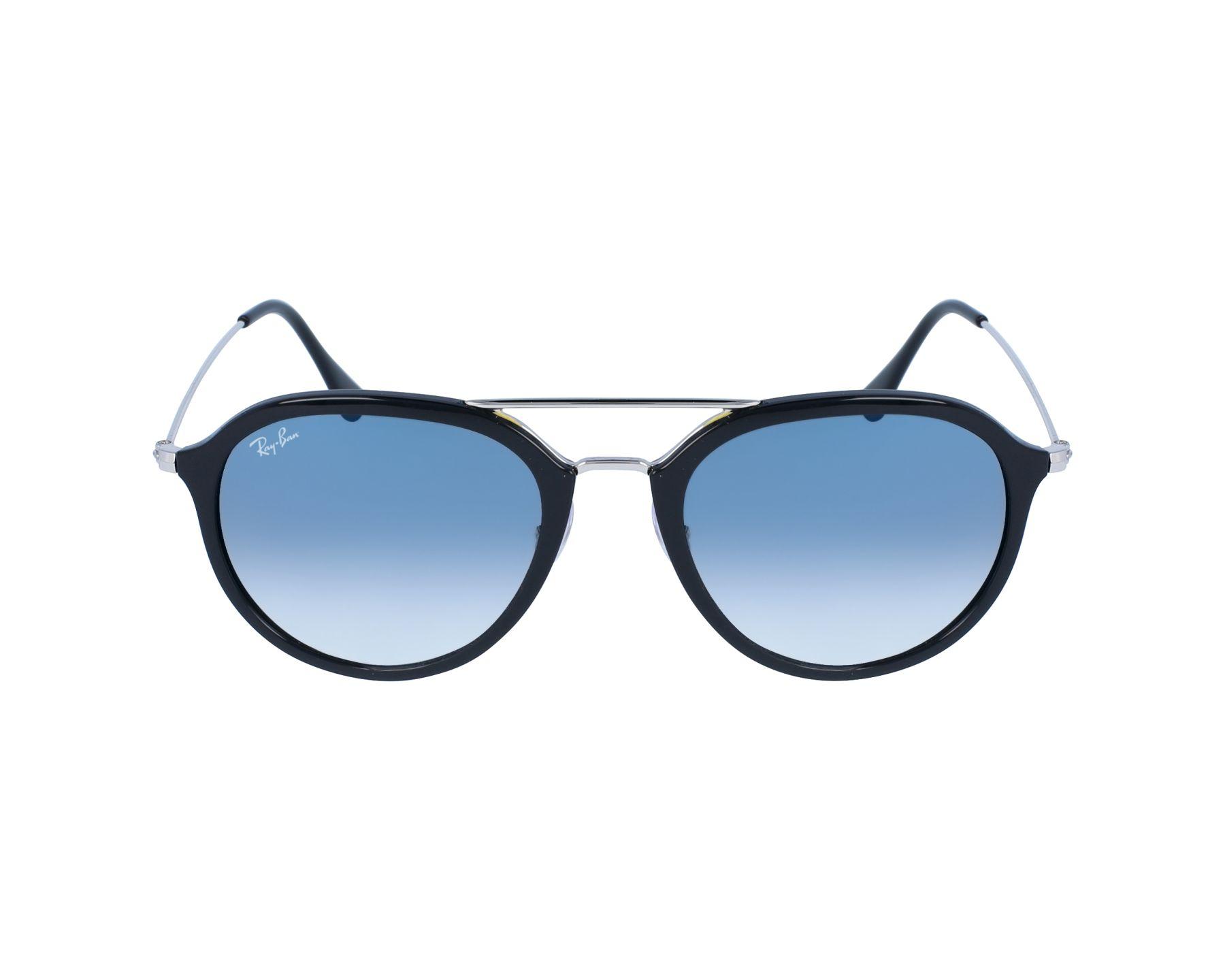 e8b33136ae Sunglasses Ray-Ban RB-4253 62923F 53-21 Black Silver profile view