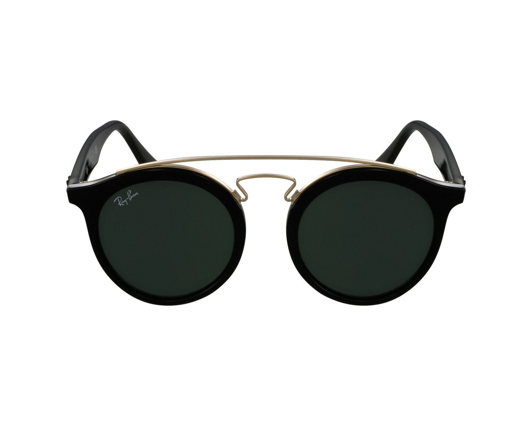 6f8d40060a thumbnail Sunglasses Ray-Ban RB-4256 601 71 46-20 Black Gold