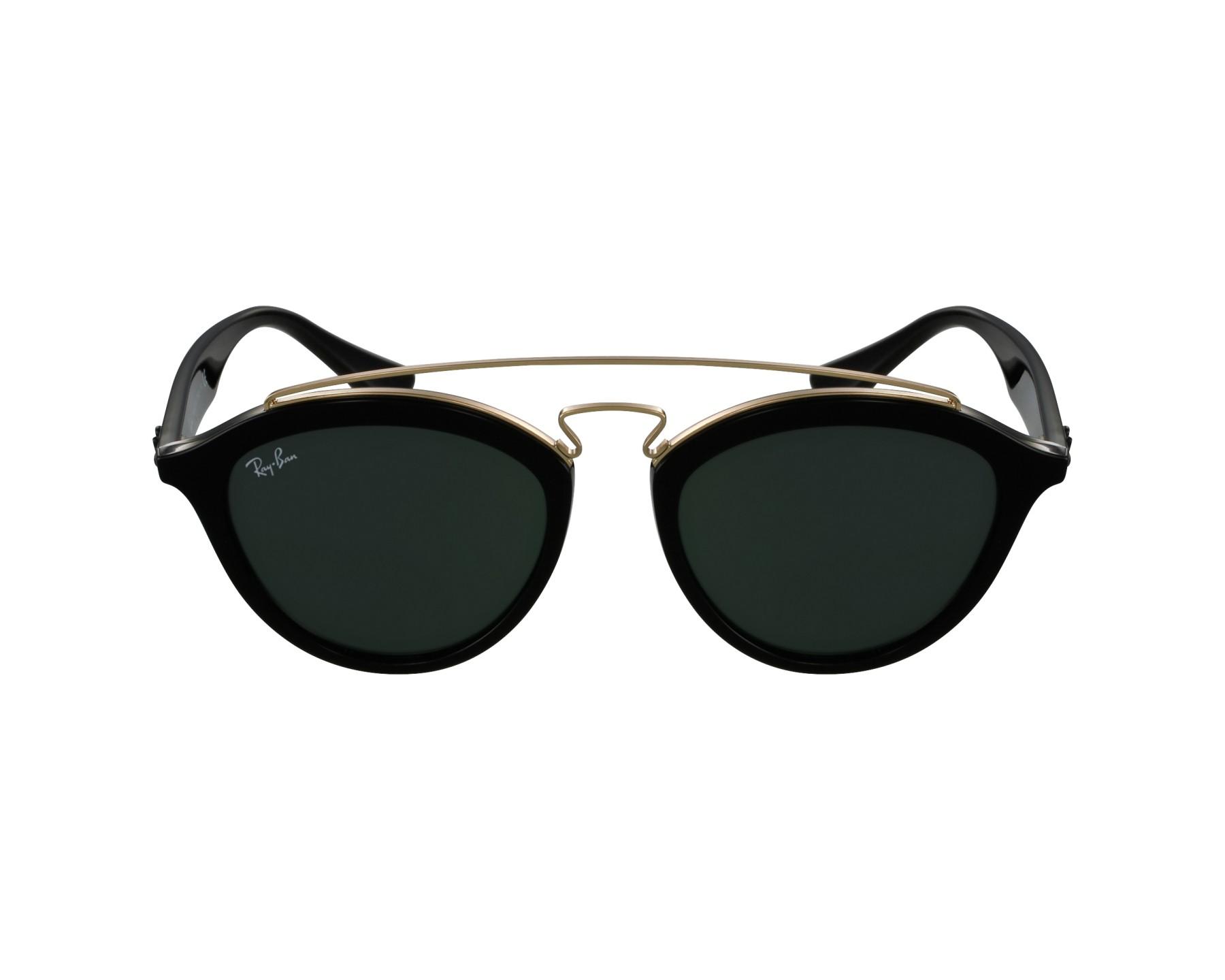 35ecb4e7280 Sunglasses Ray-Ban RB-4257 601 71 53-19 Black Gold profile